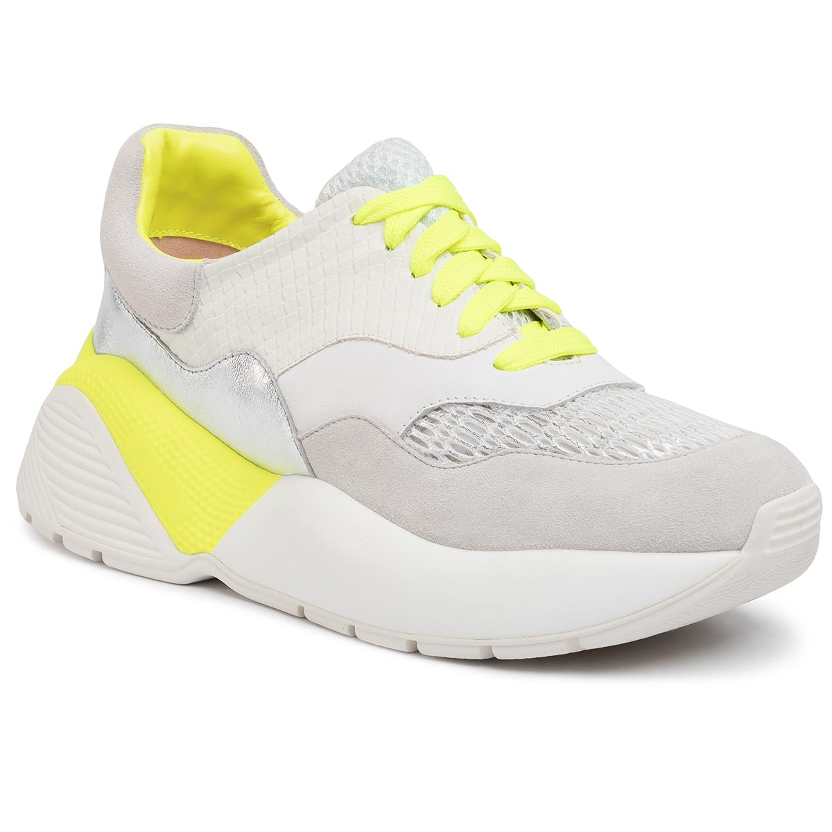 Sneakers TWINSET - Running 201TCP150 Bic.Ottico/Giallo Fluo 04830