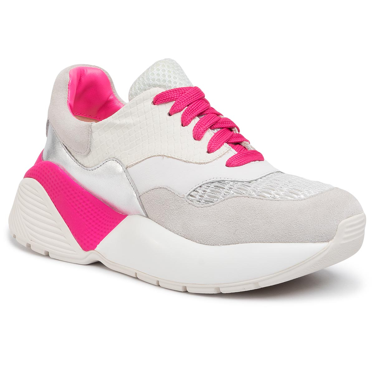 Sneakers TWINSET - Running 201TCP150 Bic.Ottico/Fuxia Fluo 04831