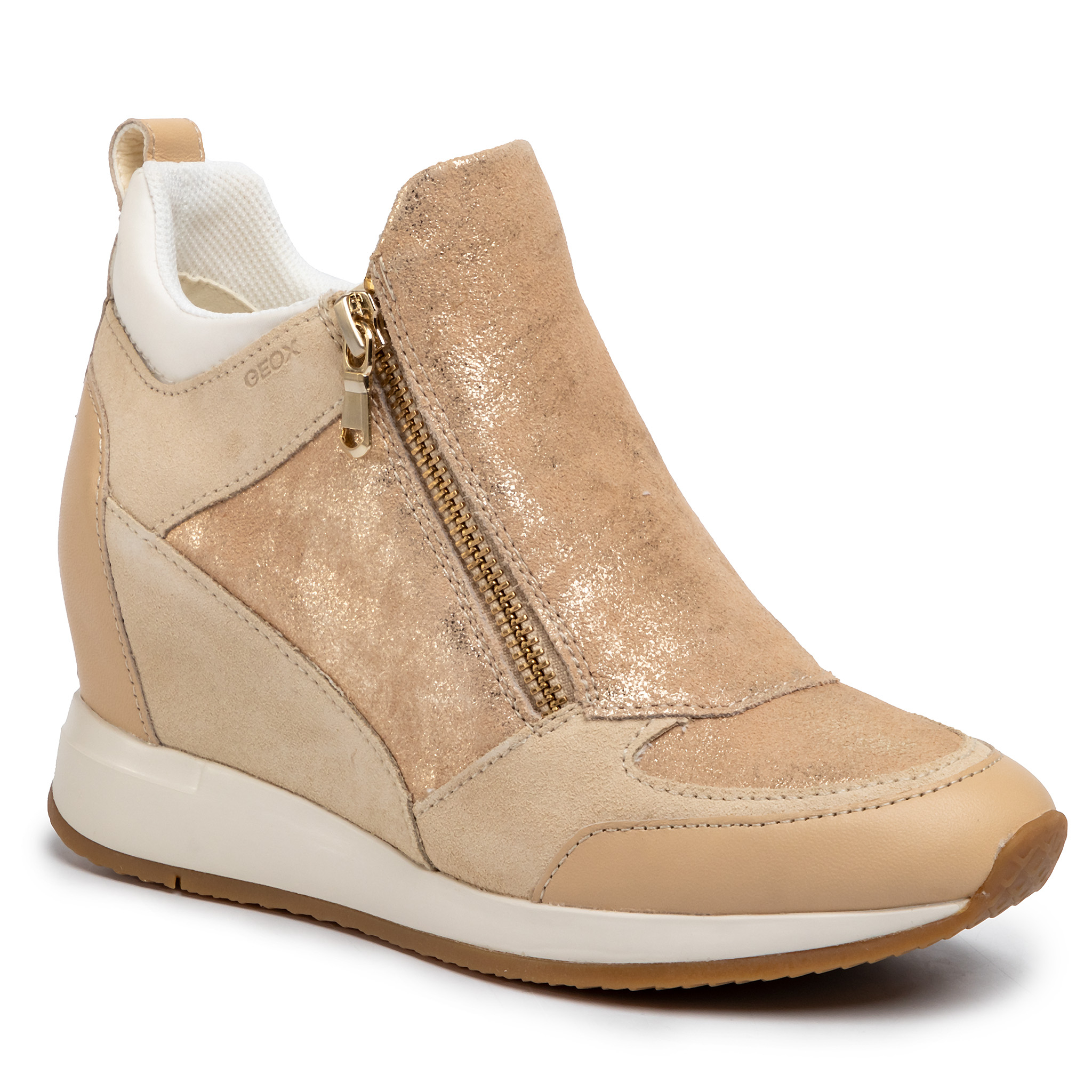 Sneakers GEOX - D Nydame E D020QE 07722 C5004 Sand