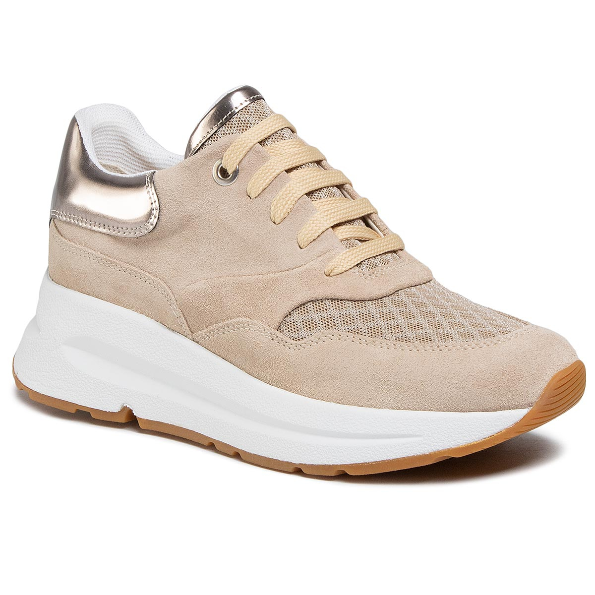 Sneakers GEOX - D Backsie C D02FLC 022GN C6738 Lt Taupe