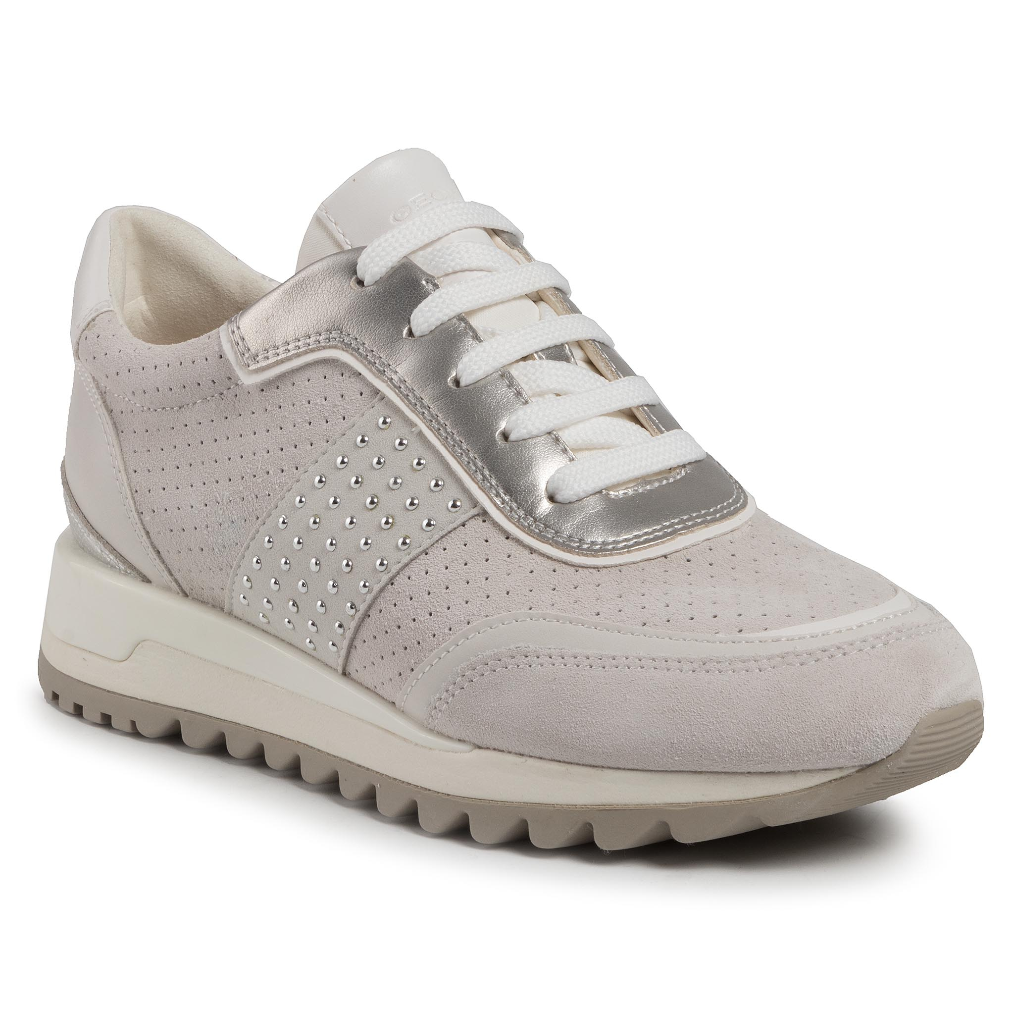 Sneakers GEOX - D Tabelya A D94AQA 022BC C1209 Off White/White