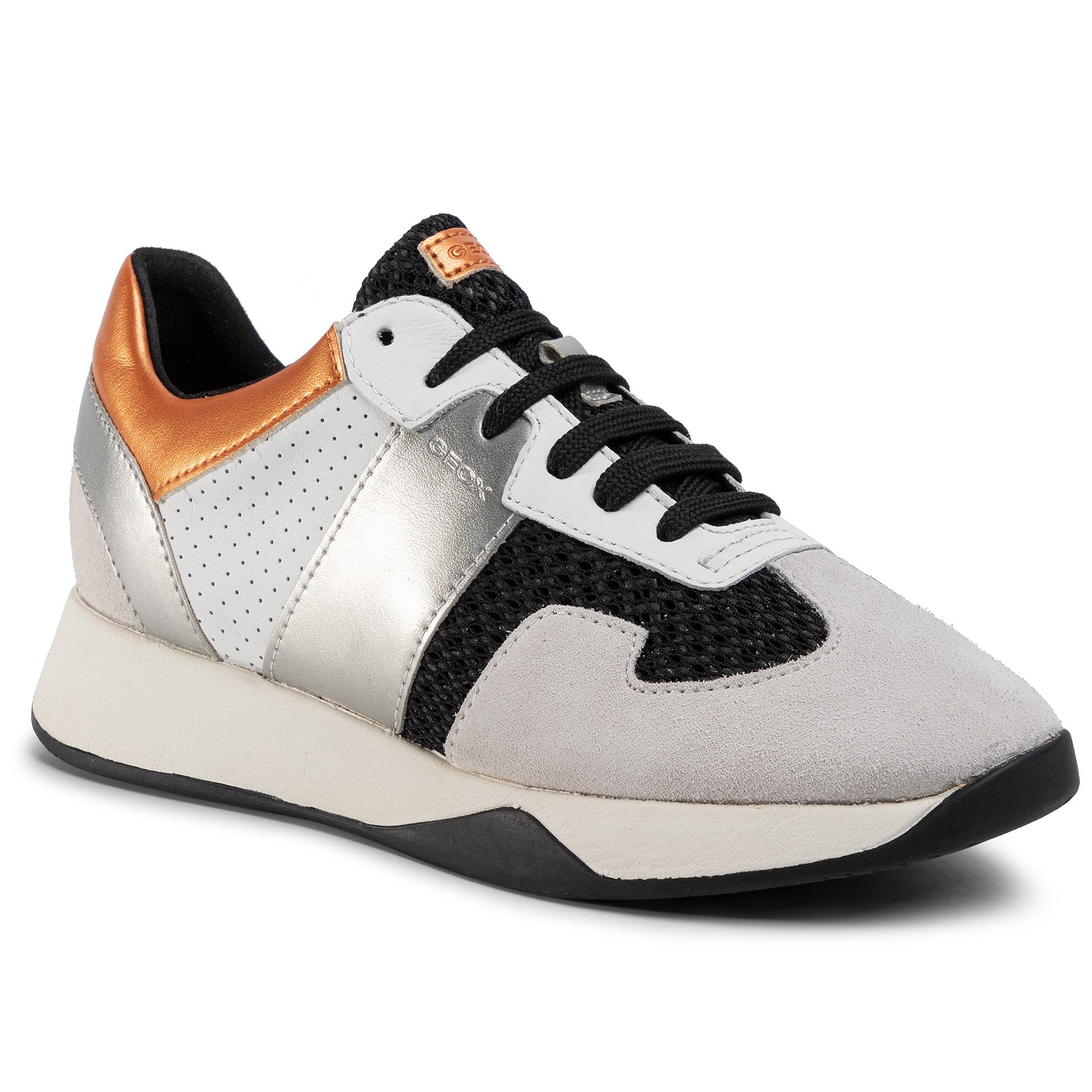 Sneakers GEOX - D Suzzie B D94FRB 01422 C9876 Black/Off White