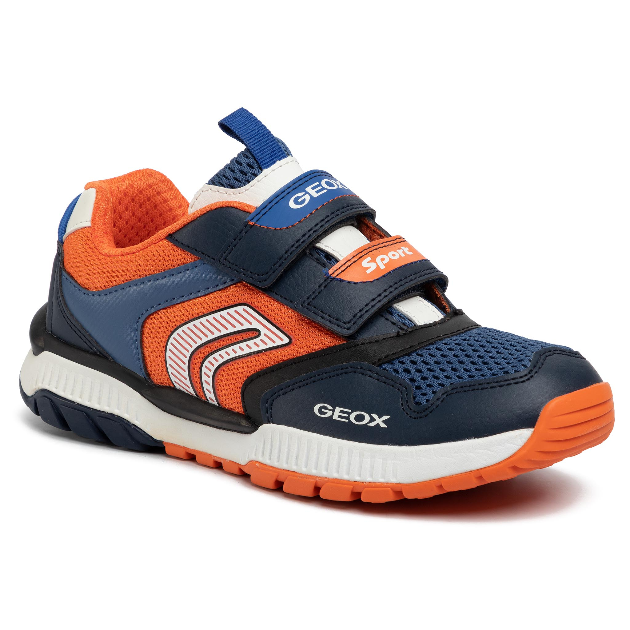 Sneakers GEOX - J Tuono B.A J02AXA 014BU C0659 D Navy/Orange
