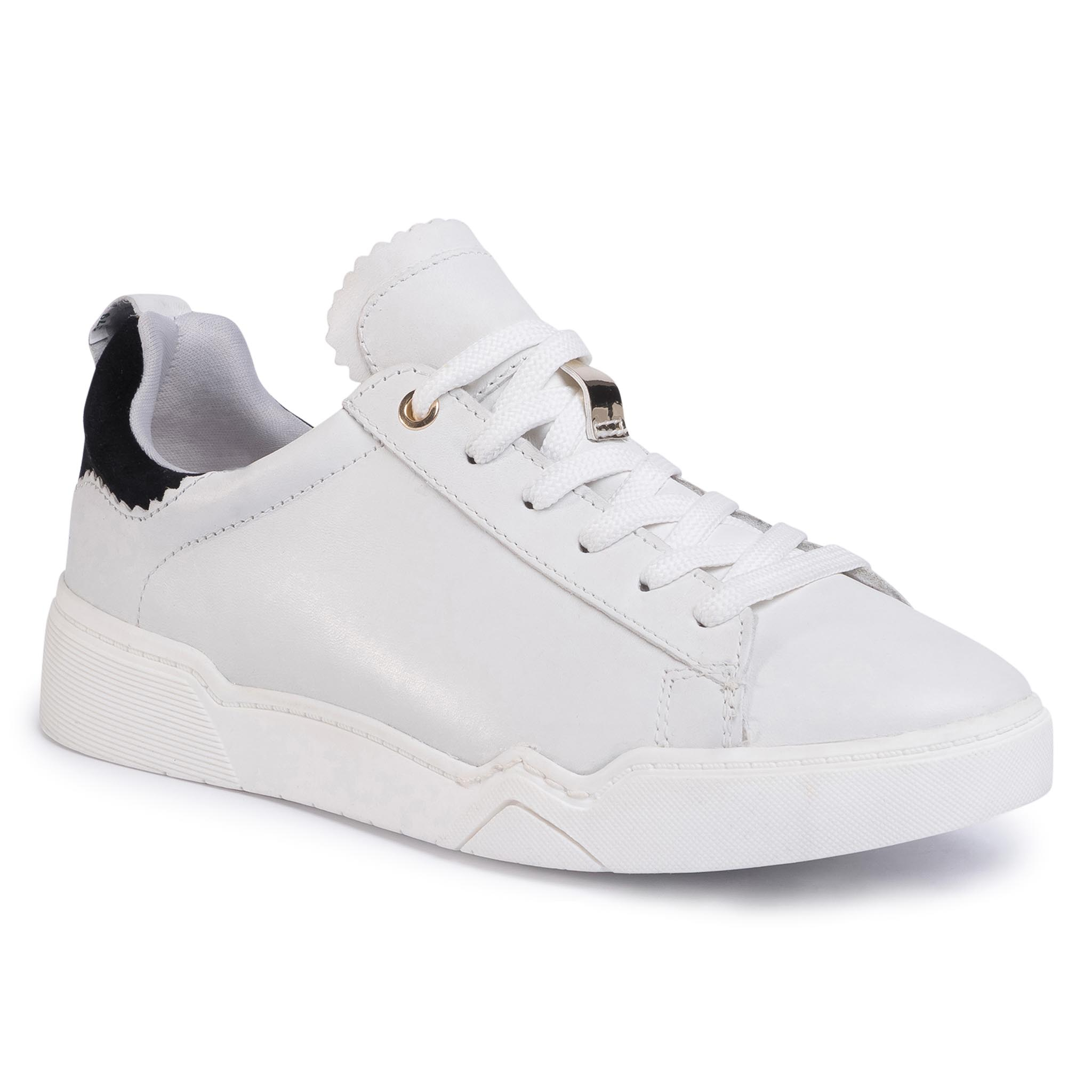 Sneakers TAMARIS - 1-23793-34 Wht/Blk/Gold 265