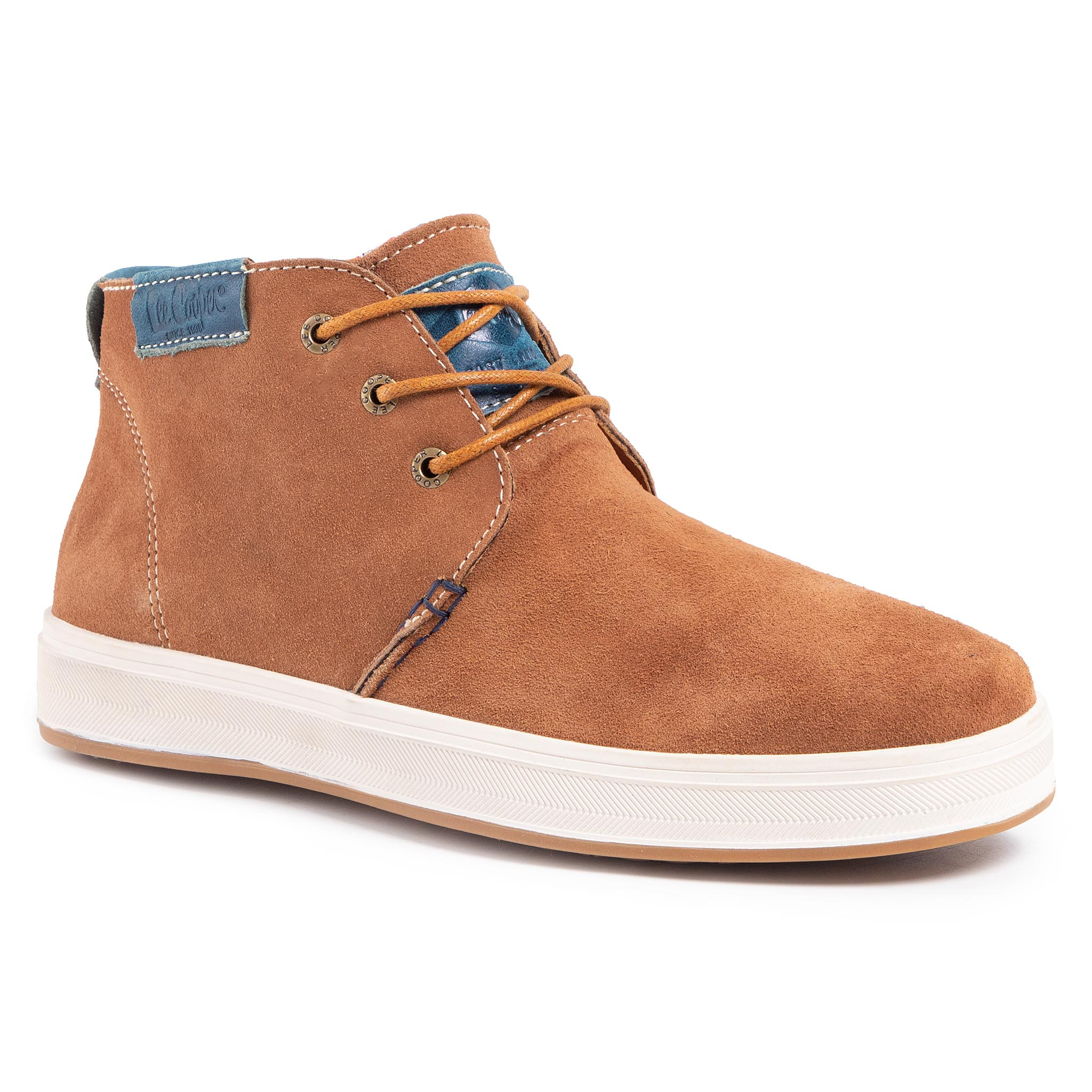 Ghete Lee Cooper - Lcj-18-523-091 Tan/Navy imagine