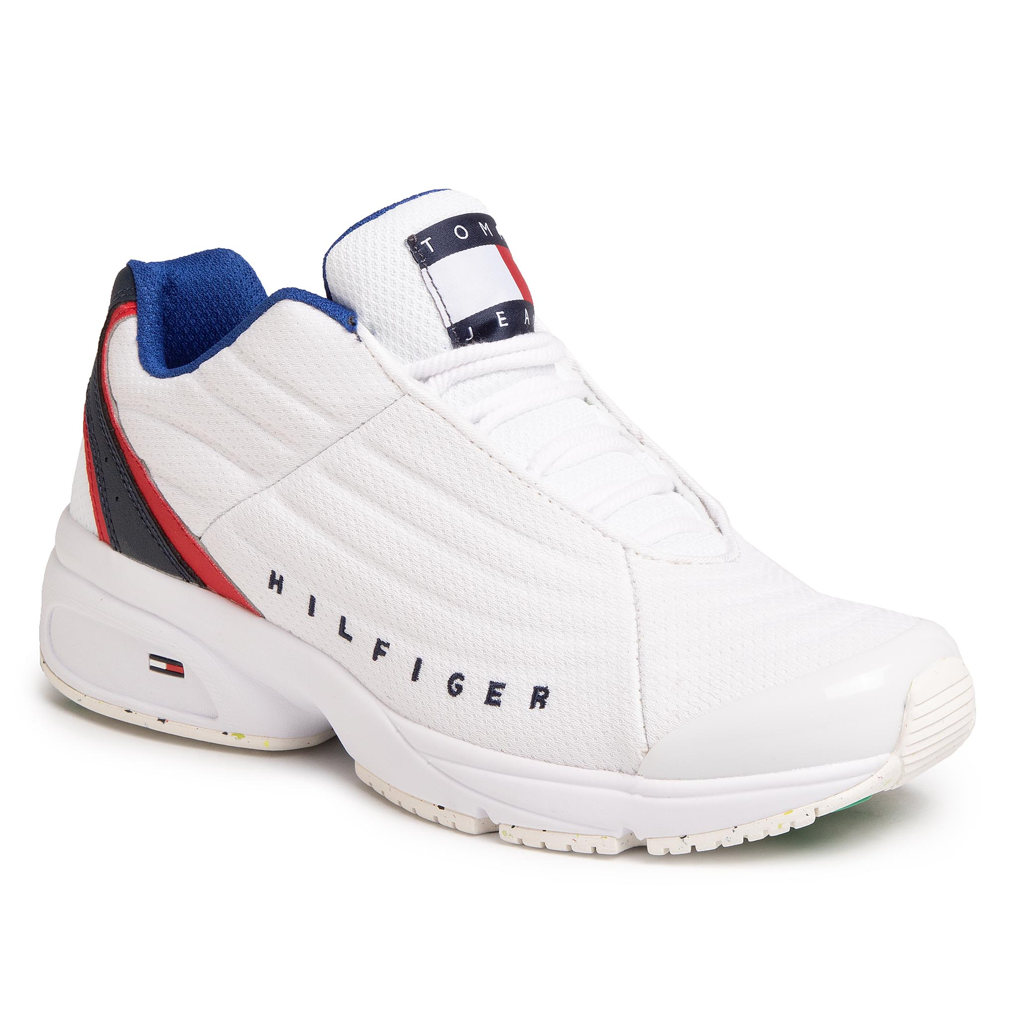 Sneakers TOMMY JEANS - Heritage Tommy Jeans Sneaker EM0EM00441 White YBS