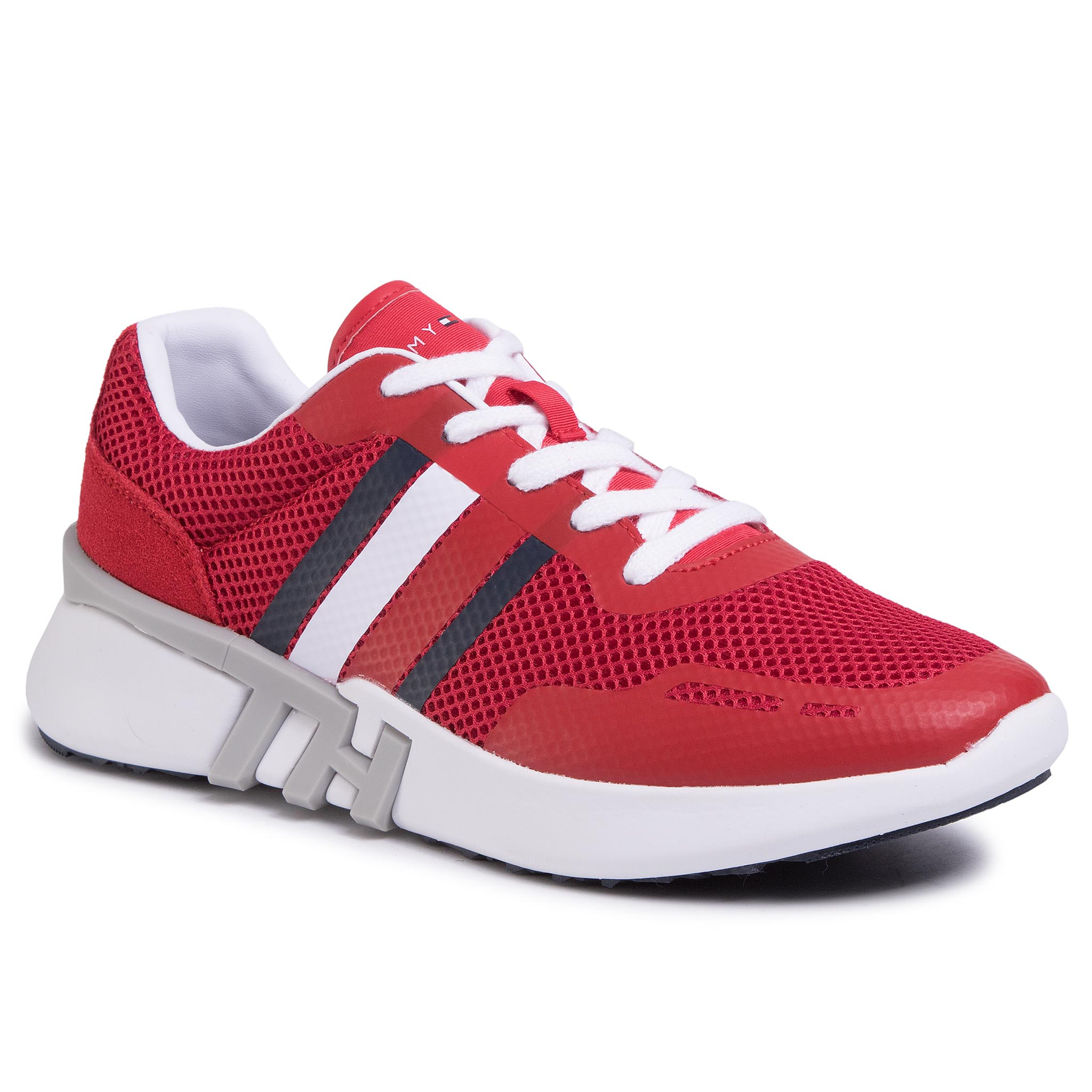 Sneakers TOMMY HILFIGER - Lightweight Crporate Th Runner FM0FM02661 Tango Red XCN