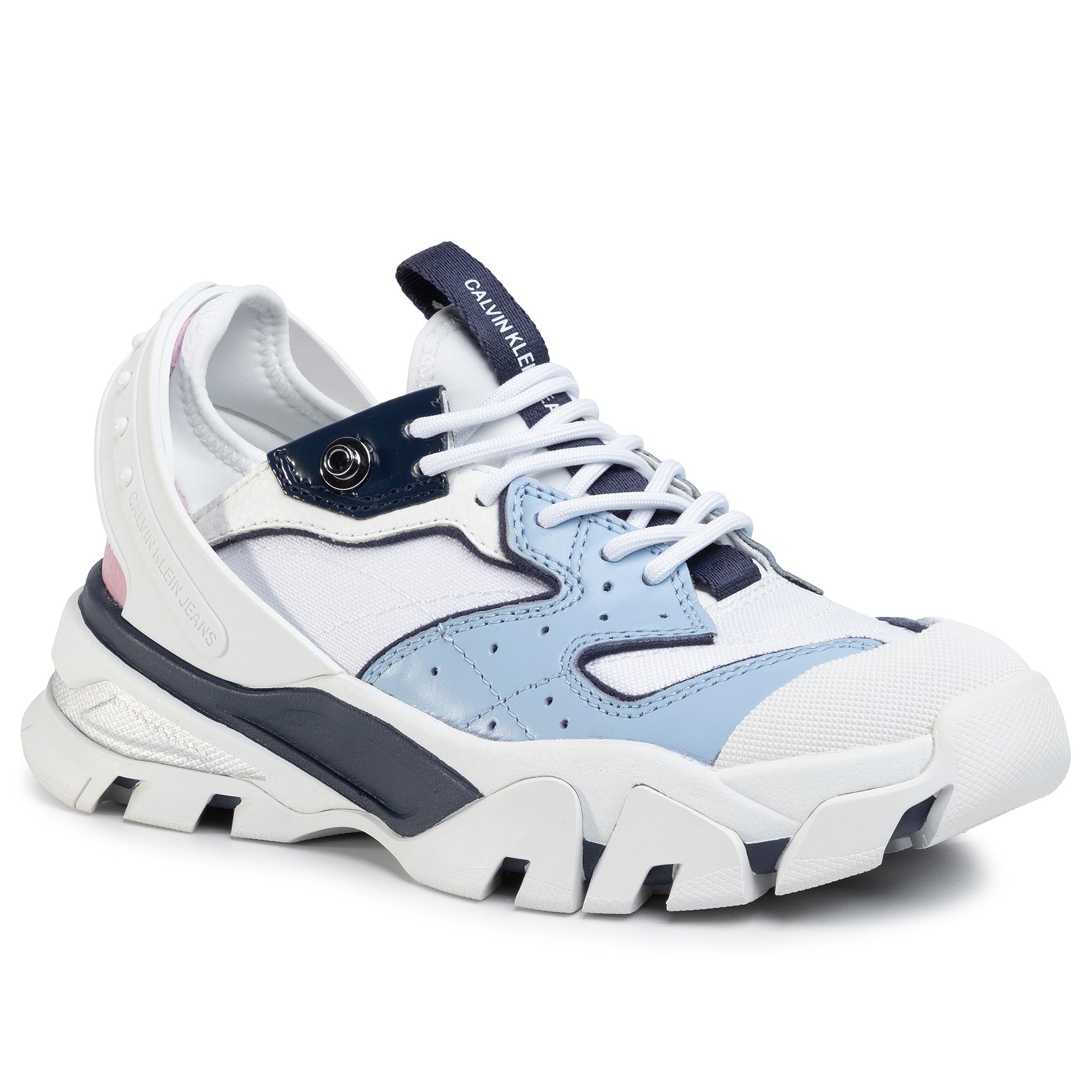 Sneakers CALVIN KLEIN JEANS - Clarice B4R0883 White/Chambray Blue