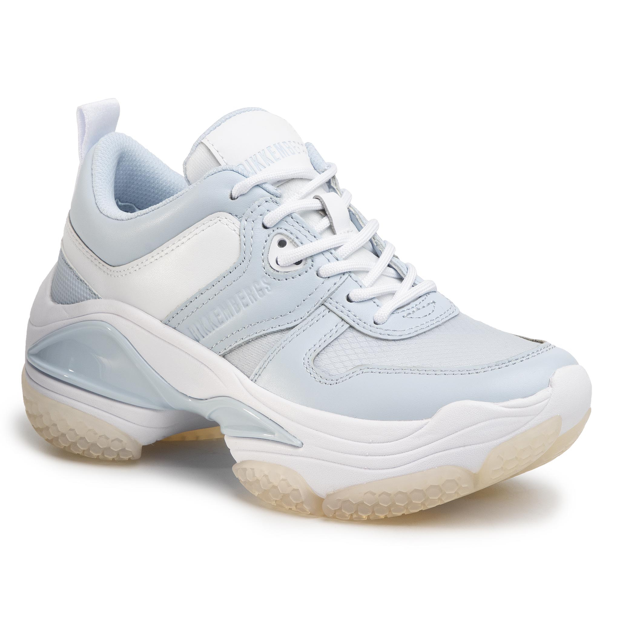 Sneakers BIKKEMBERGS - Pascaline B4BKW0092 Baby Blue/White