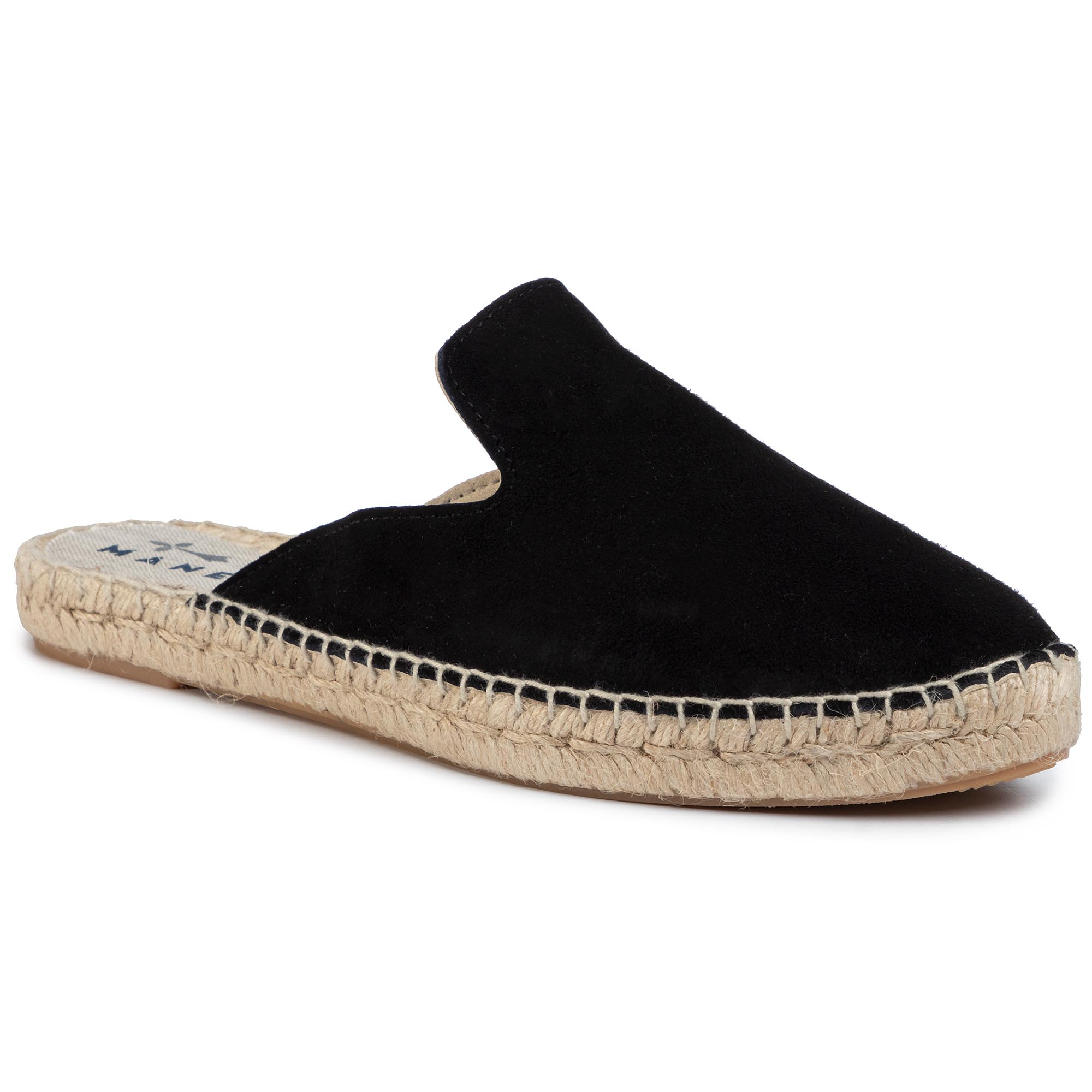 Espadrile Manebi - Mules K 1.0 M0 Black imagine epantofi.ro 2021