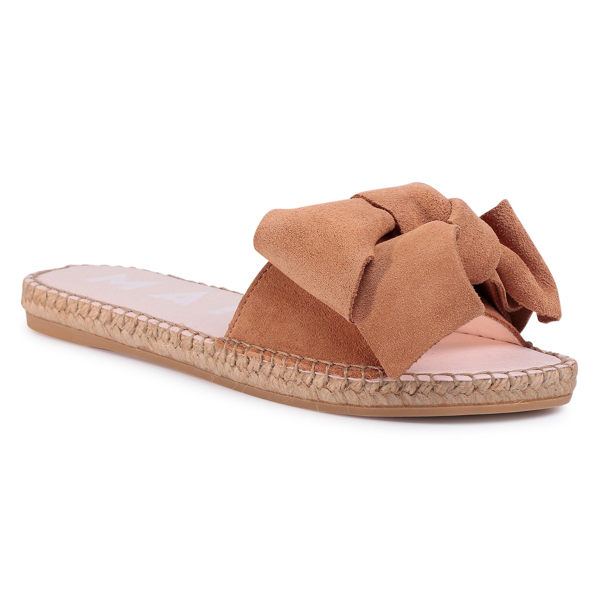 Espadrile MANEBI - Sandals With Bow W 1.1 J0 Cuero