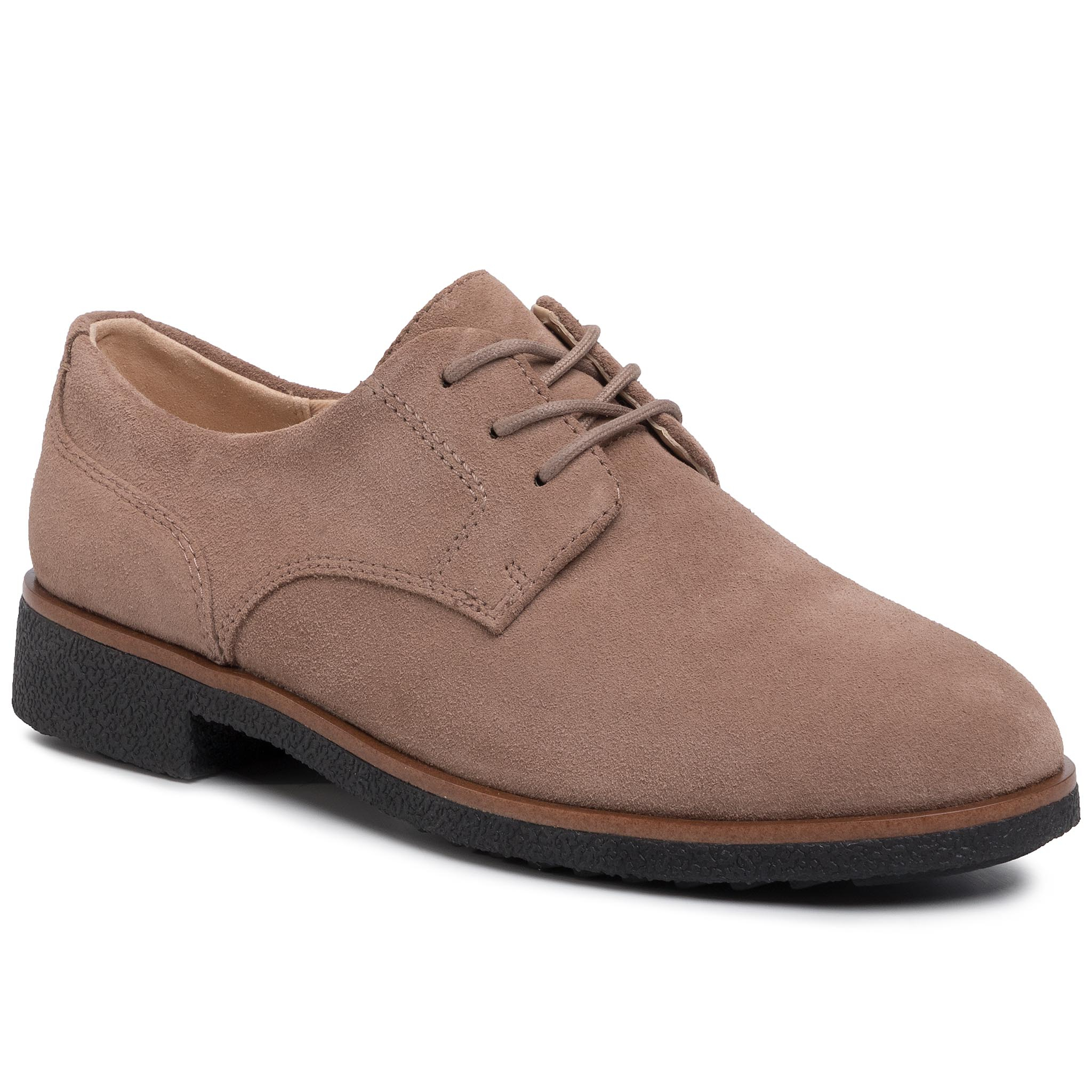 Oxford CLARKS - Griffin Lane 261447394 Taupe Suede