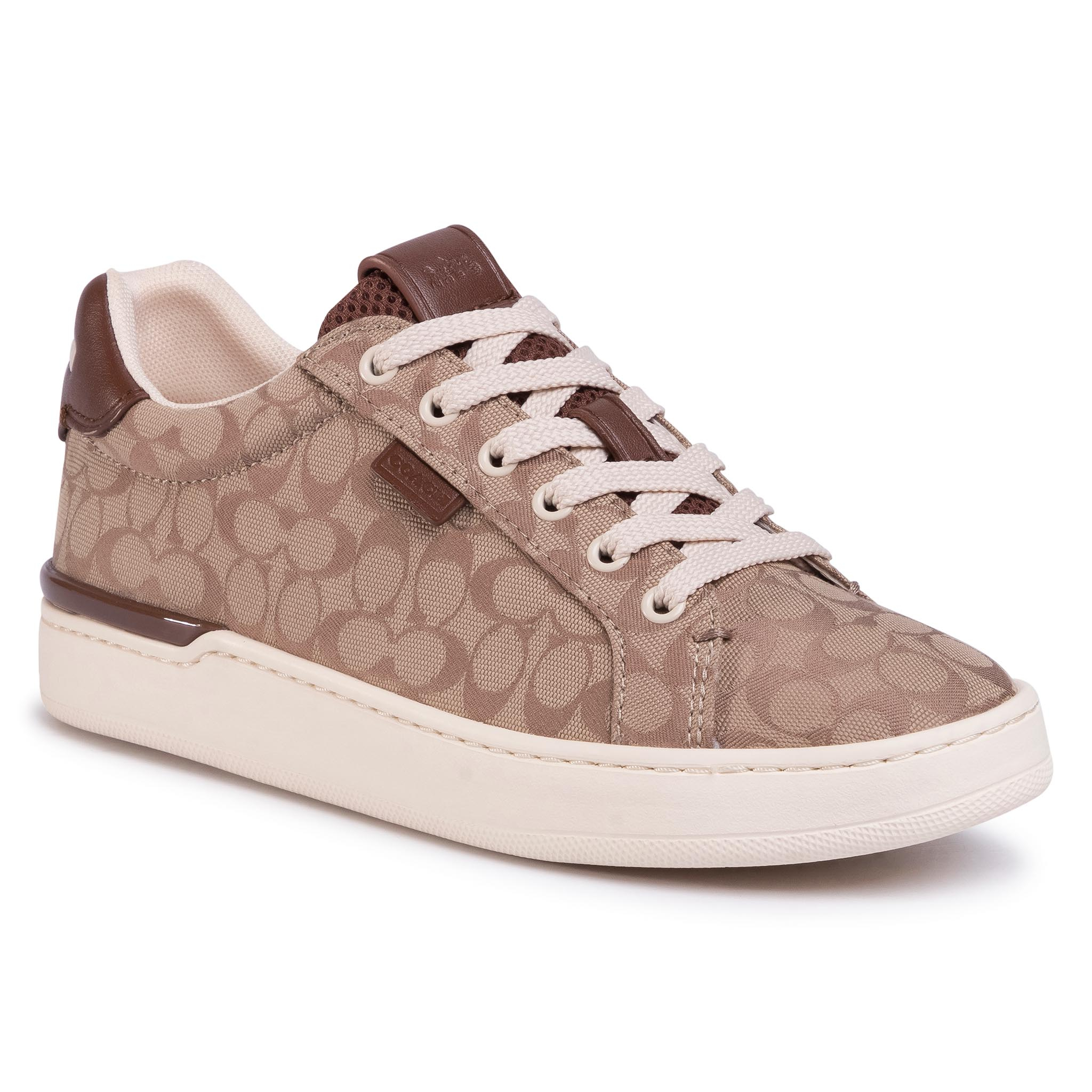 Sneakers COACH - Lowline Sig Low Top G5037 10011275 Stone