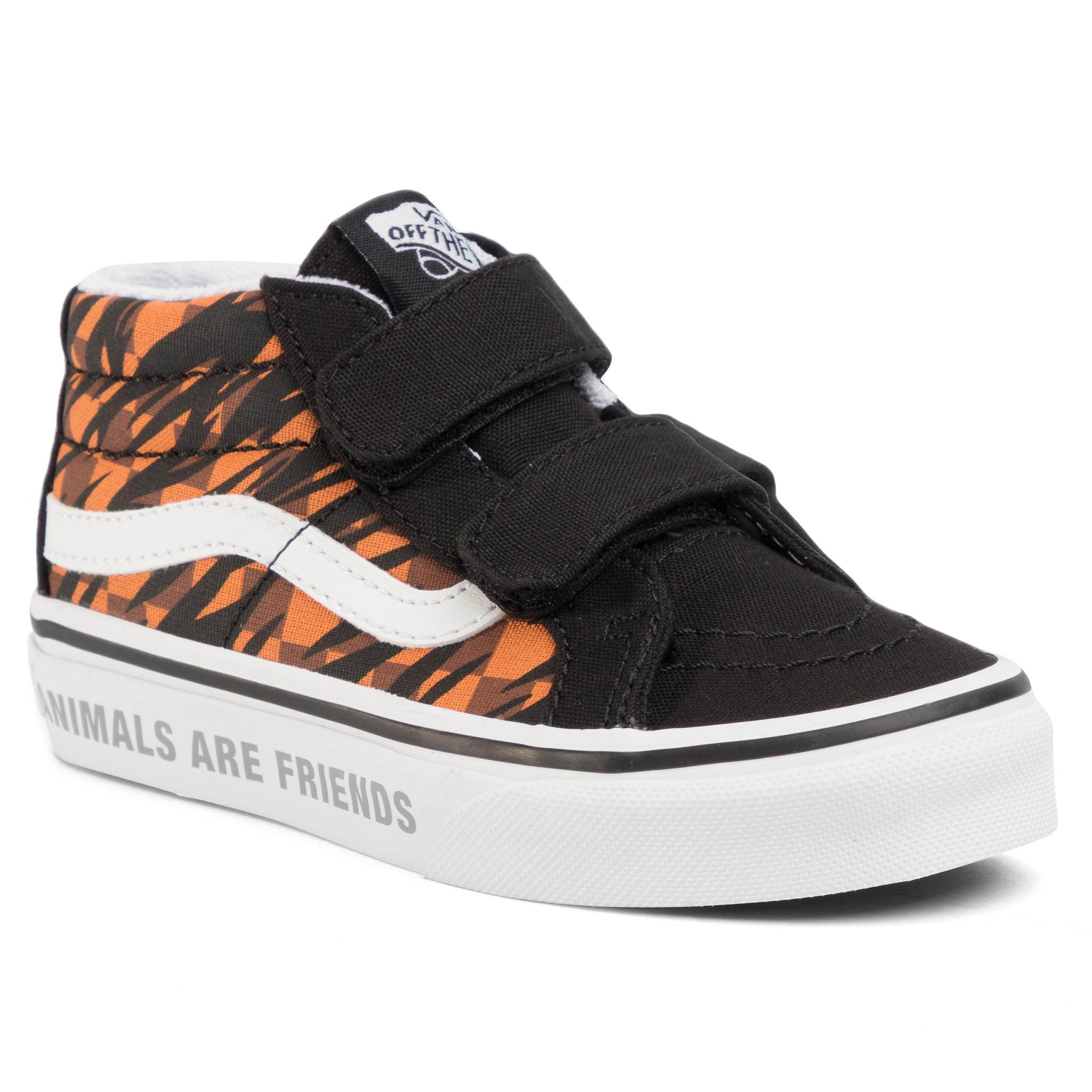 Sneakers VANS - Sk-8 Mid Reissue V VN0A38HHXWG1 (Animal Checkerbrd) Tgrblk