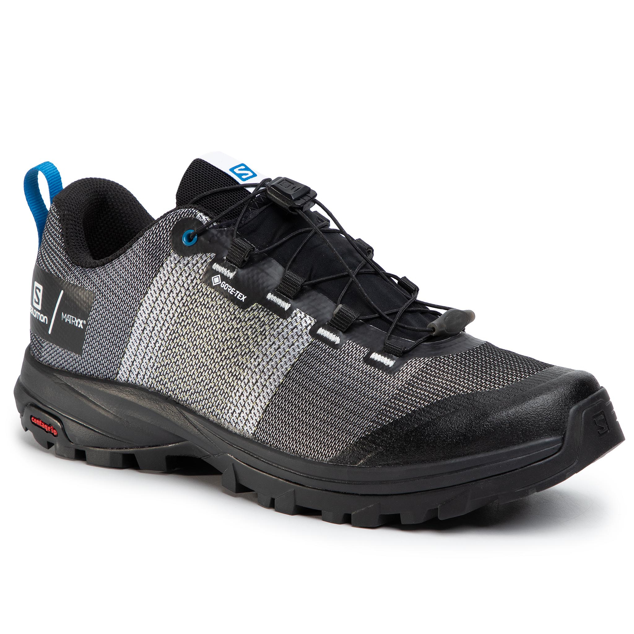 Trekkings Salomon - Out Gtx/Pro Gore-Tex 408677 White/Black/Imperial Blue imagine epantofi.ro 2021