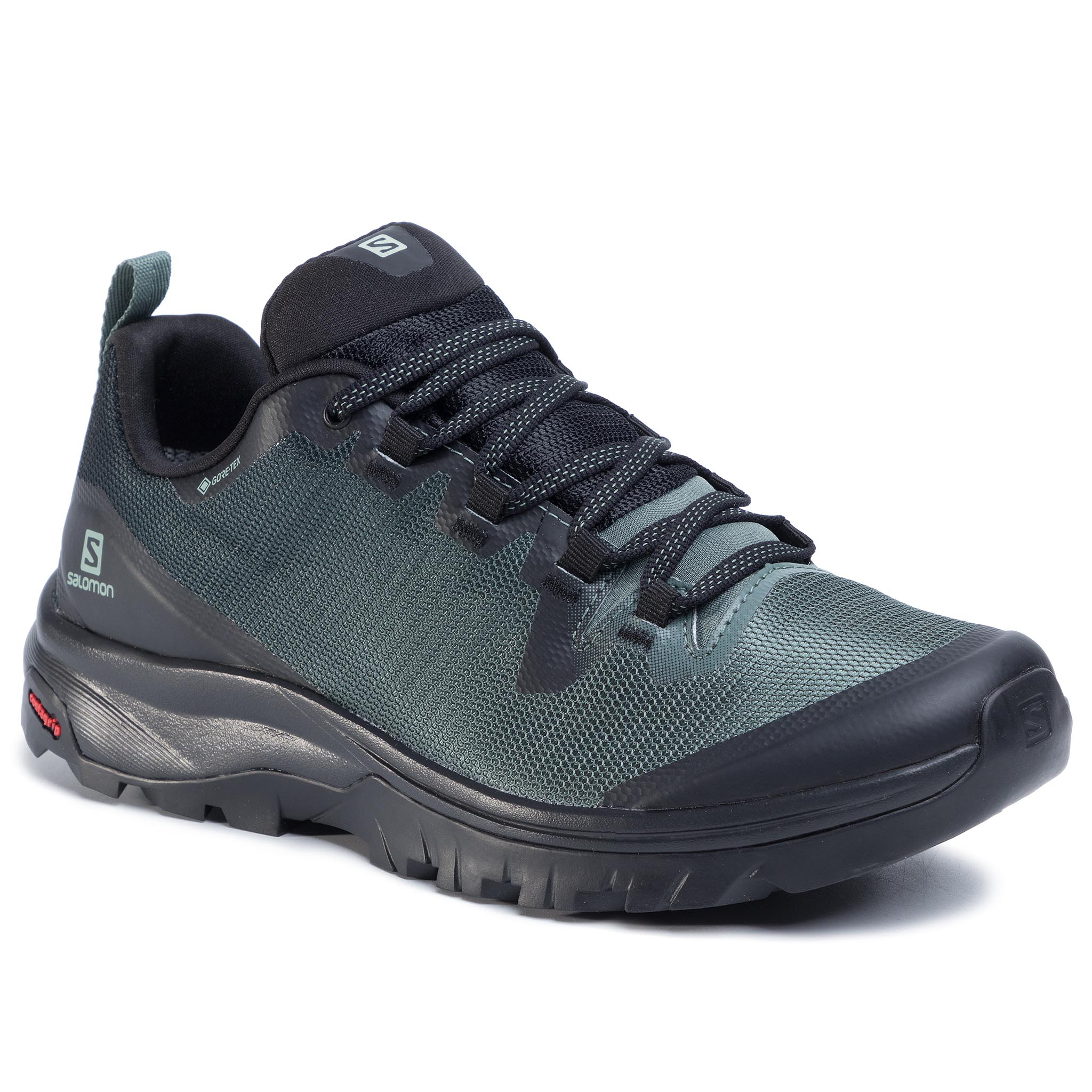 Trekkings Salomon - Vaya Gtx Gore-Tex 409896 Black/Balsam Green/Black imagine epantofi.ro 2021