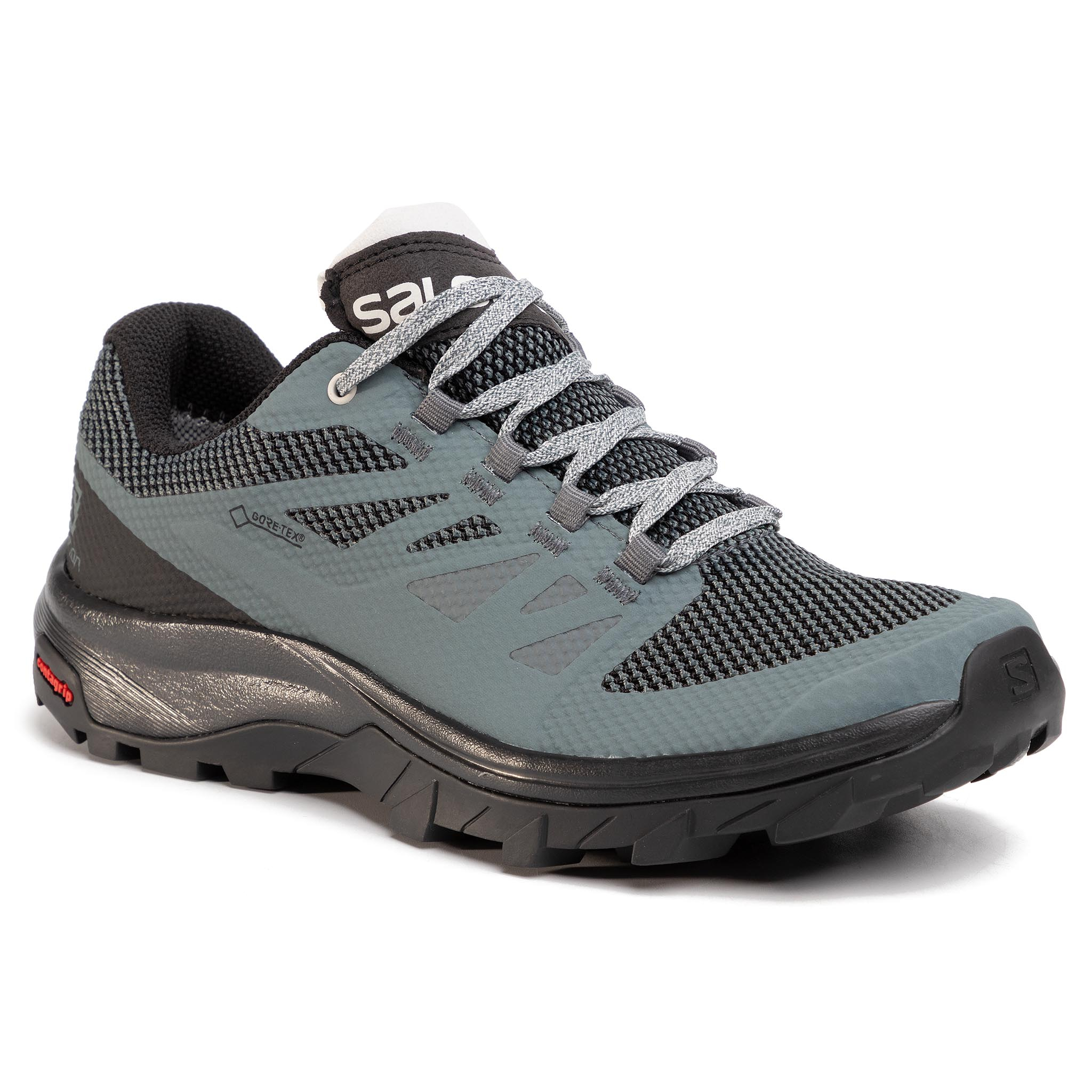 Trekkings SALOMON - Outline Gtx W GORE-TEX 409970 22 M0 Stormy Weather/Black/Lunar Rock