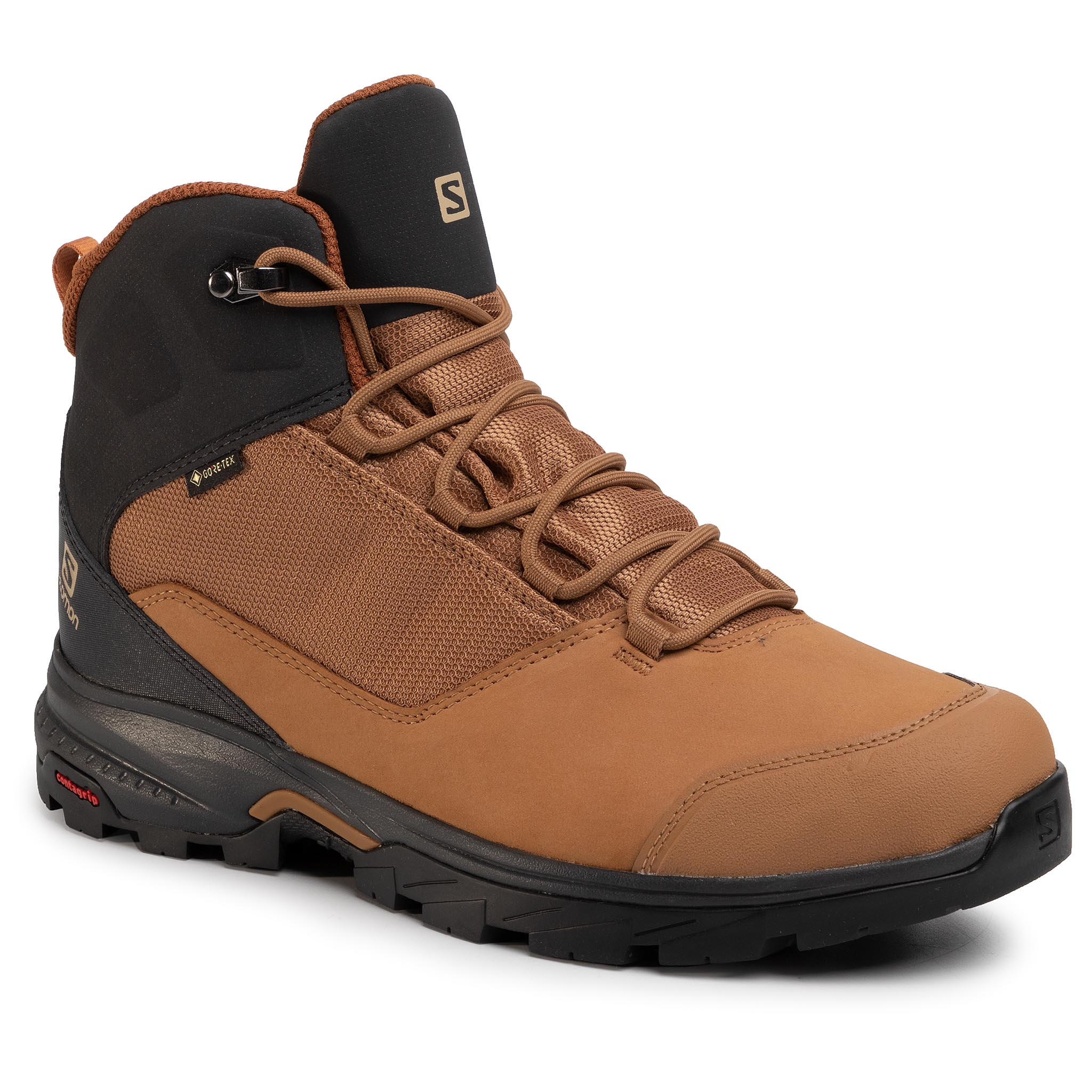 Trekkings Salomon - Outward Gtx Gore-Tex 410423 31 V0 Tabacco Brown/Phantom/Carmel Cafe imagine epantofi.ro 2021