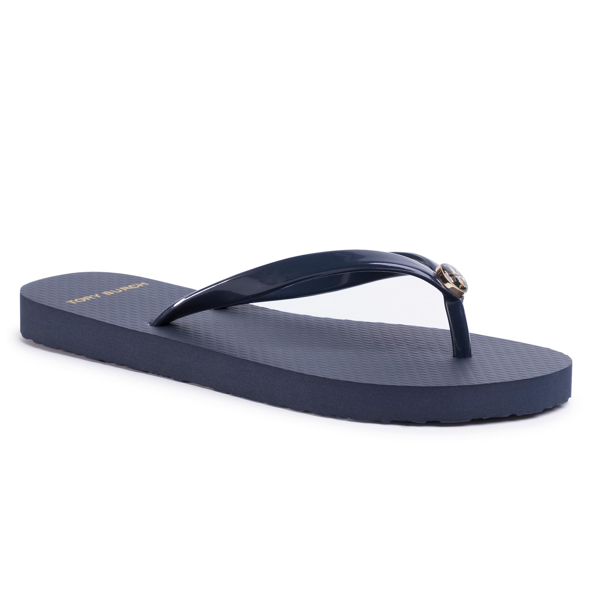 Flip flop TORY BURCH - Solid Thin Flip Flop 47405 Perfect Navy 430