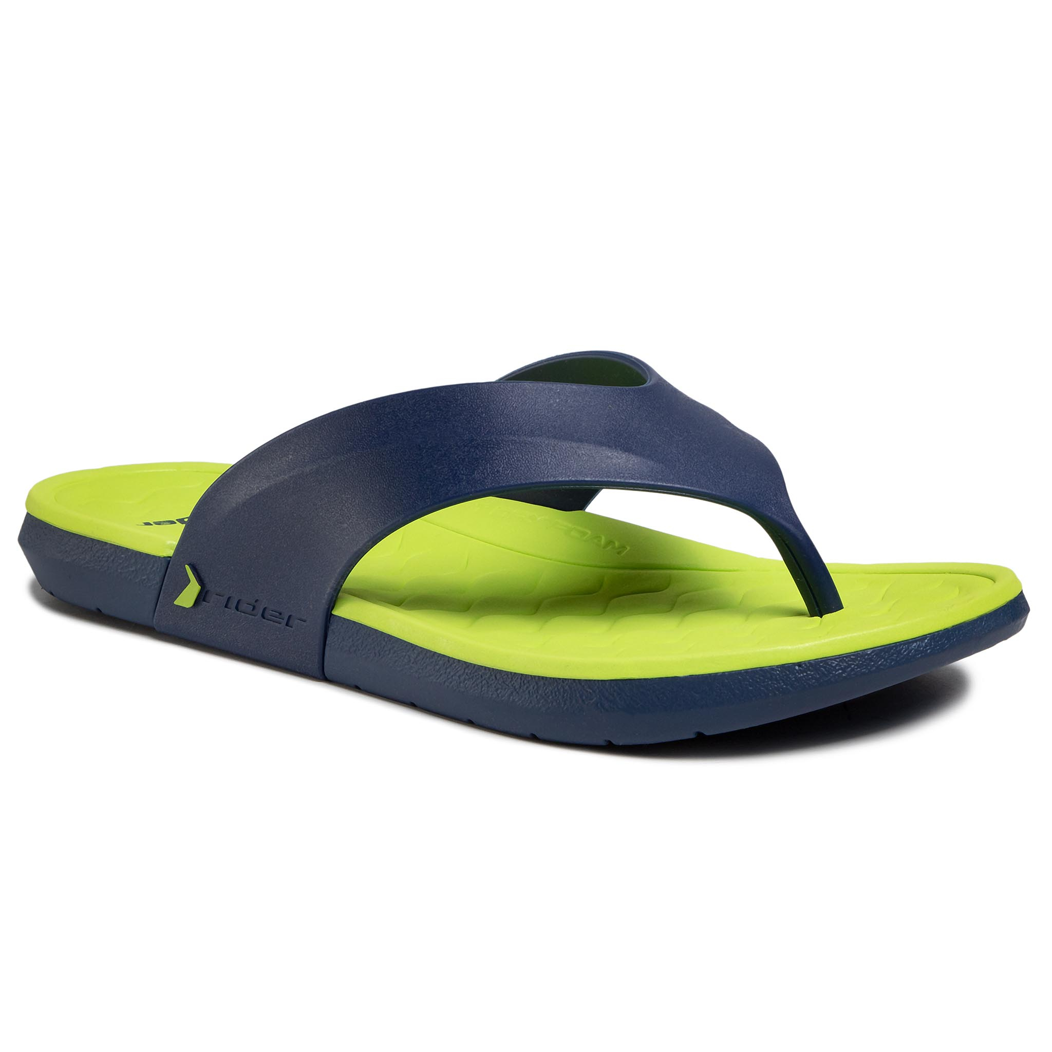 Flip Flop Rider - Infinity Iii Thong Ad 82732 Blue/Green 23563 imagine