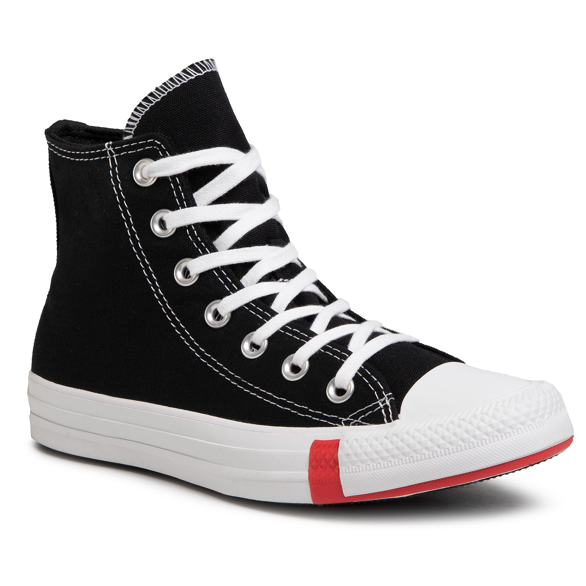 Teniși Converse - Ctas Hi 166734c Black/University R imagine epantofi.ro 2021