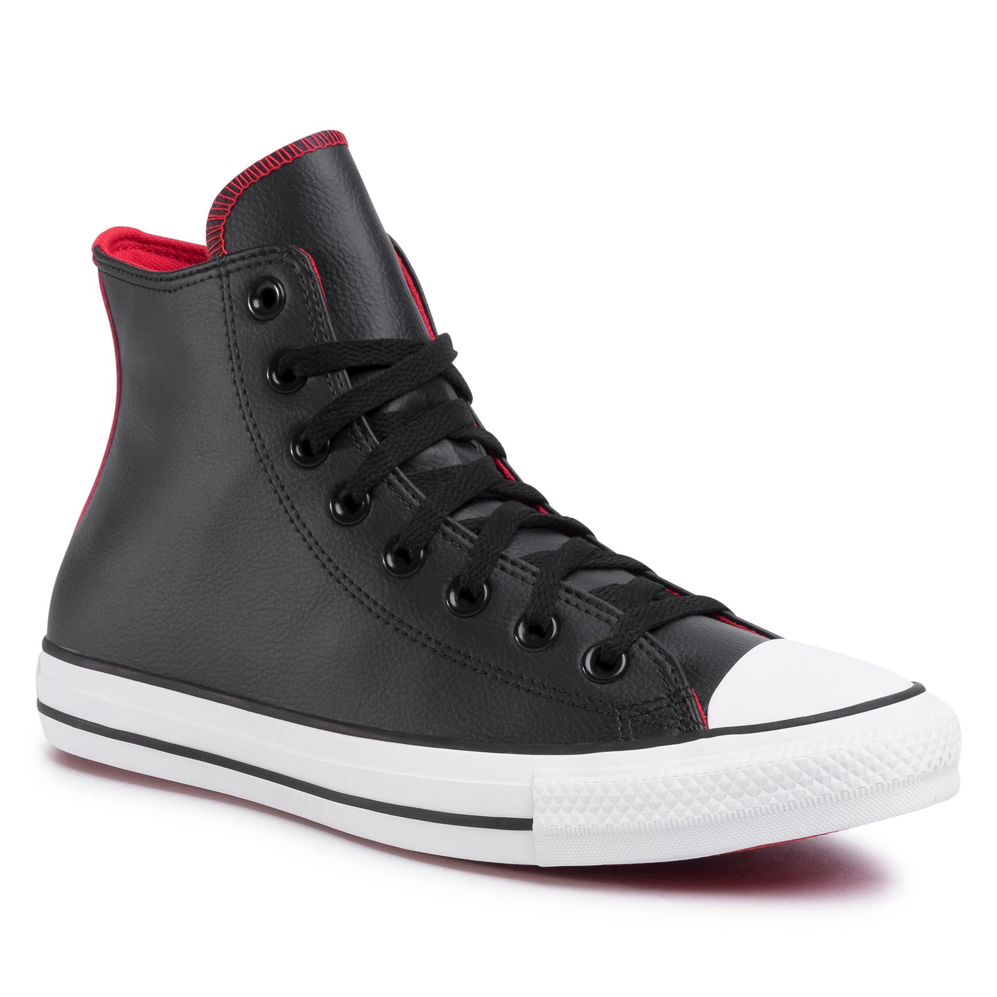Teniși Converse - Ctas Hi 167119c Black/University Red/White imagine epantofi.ro 2021