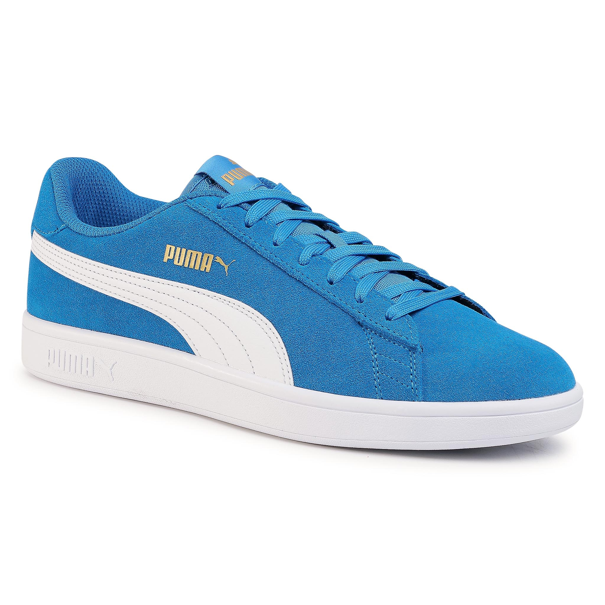 Sneakers PUMA - Smash V2 364989 40 Palace Blue/White/Team Gold