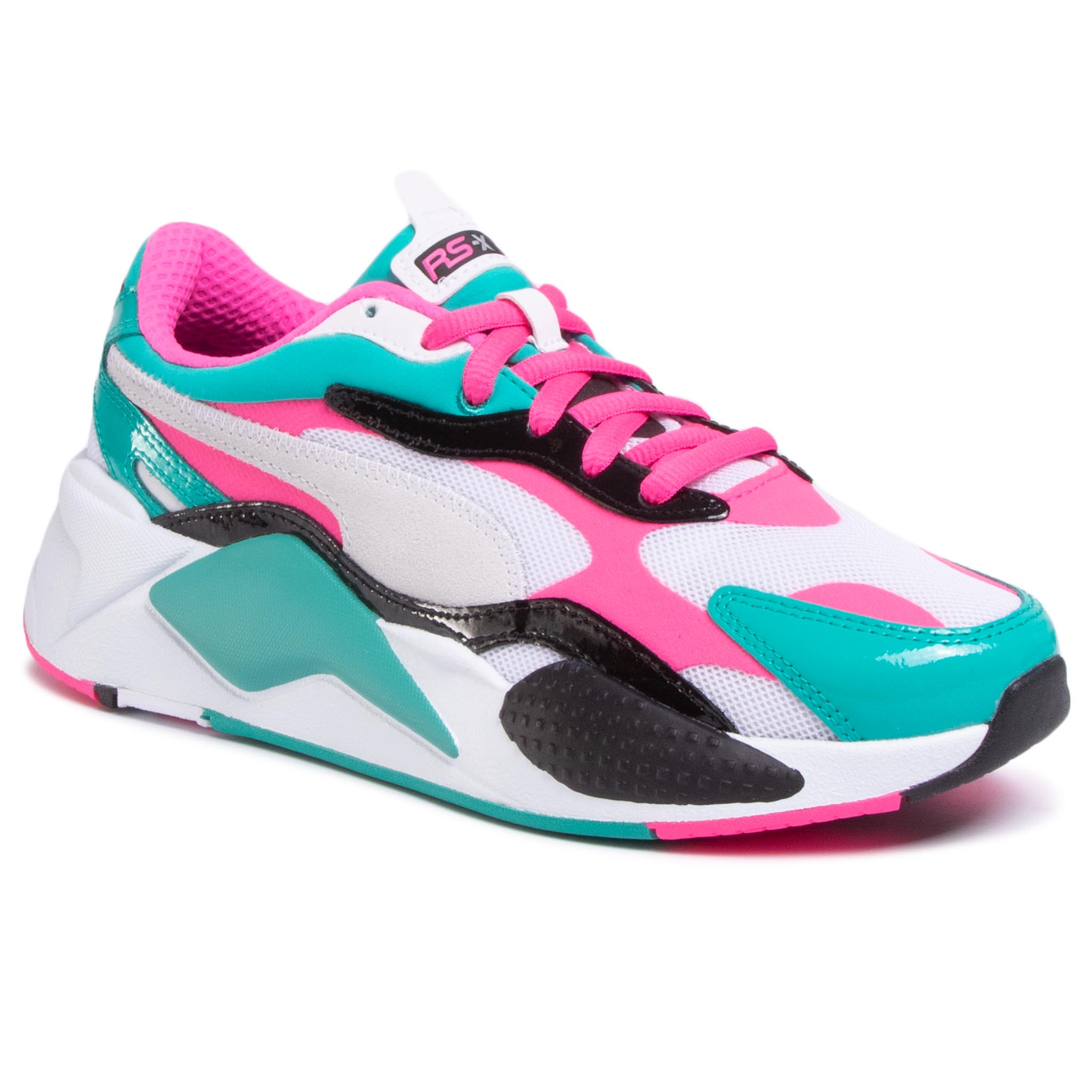 Sneakers PUMA - RS-X³ Plastic 371569 04 Puma White/Fluo Pink