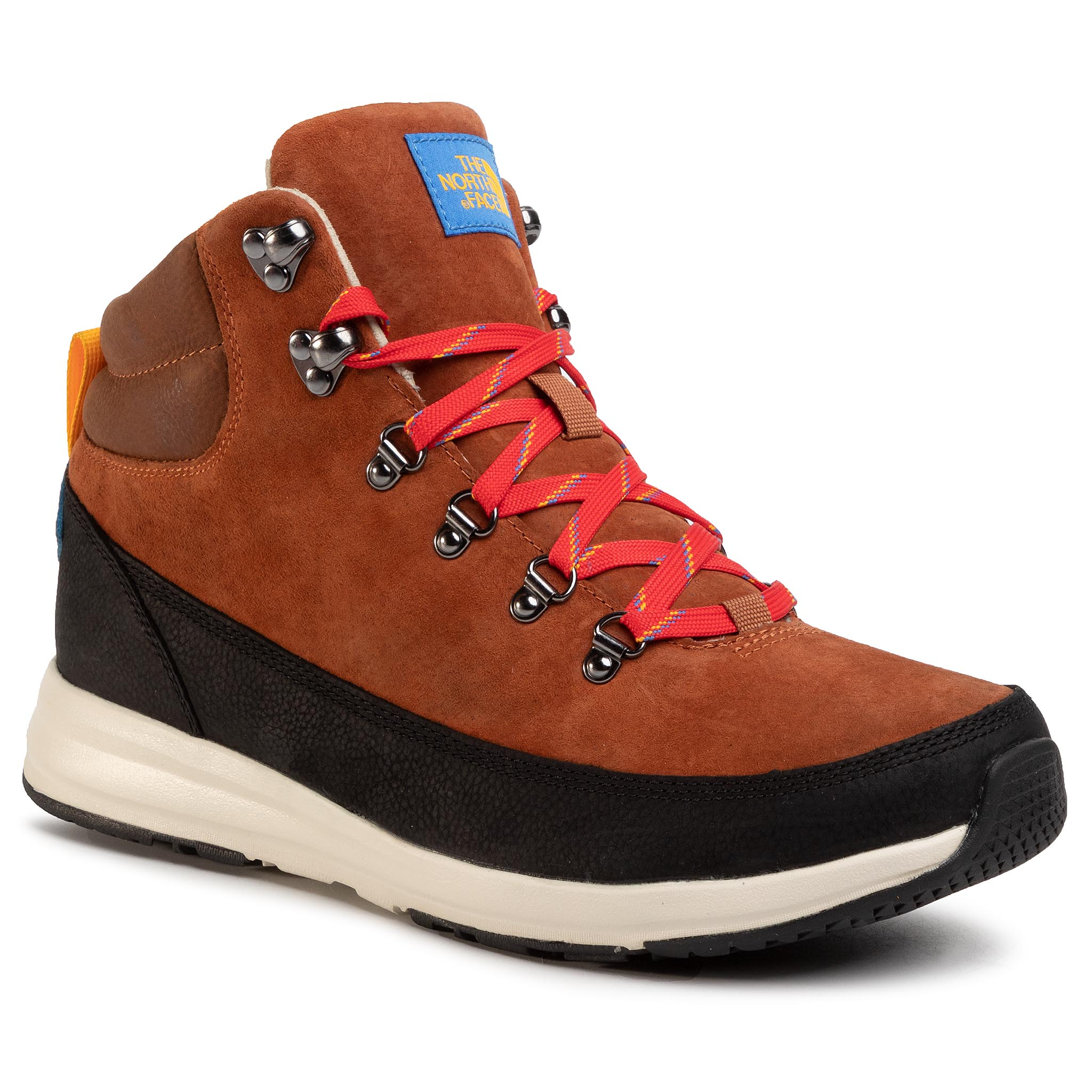 Trekkings The North Face - Back-To Berkeley Redux Remtlz Lux Nf0a3wzzg6m1 Caramel Cafe/Tnf Black imagine