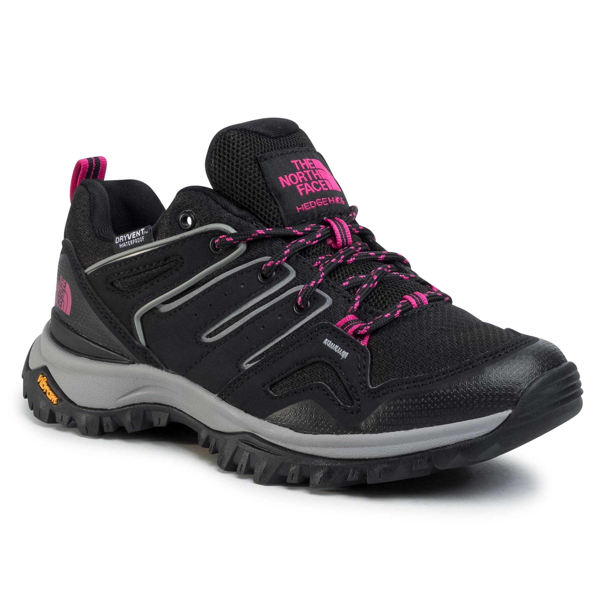 Trekkings The North Face - Hedgehog Fastpack Ii Wp Nf0a46aqj94 Tnf Black/Mr. Pink imagine epantofi.ro 2021