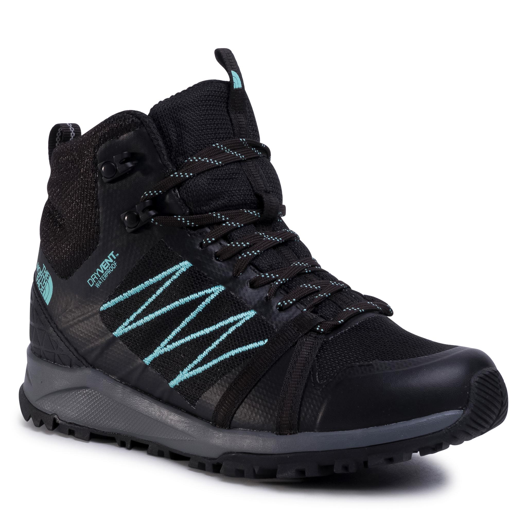 Trekkings The North Face - Litewave Fastpack Ii Mid Wp Nf0a47hfu3b Tnf Black/Waqua Splash imagine epantofi.ro 2021