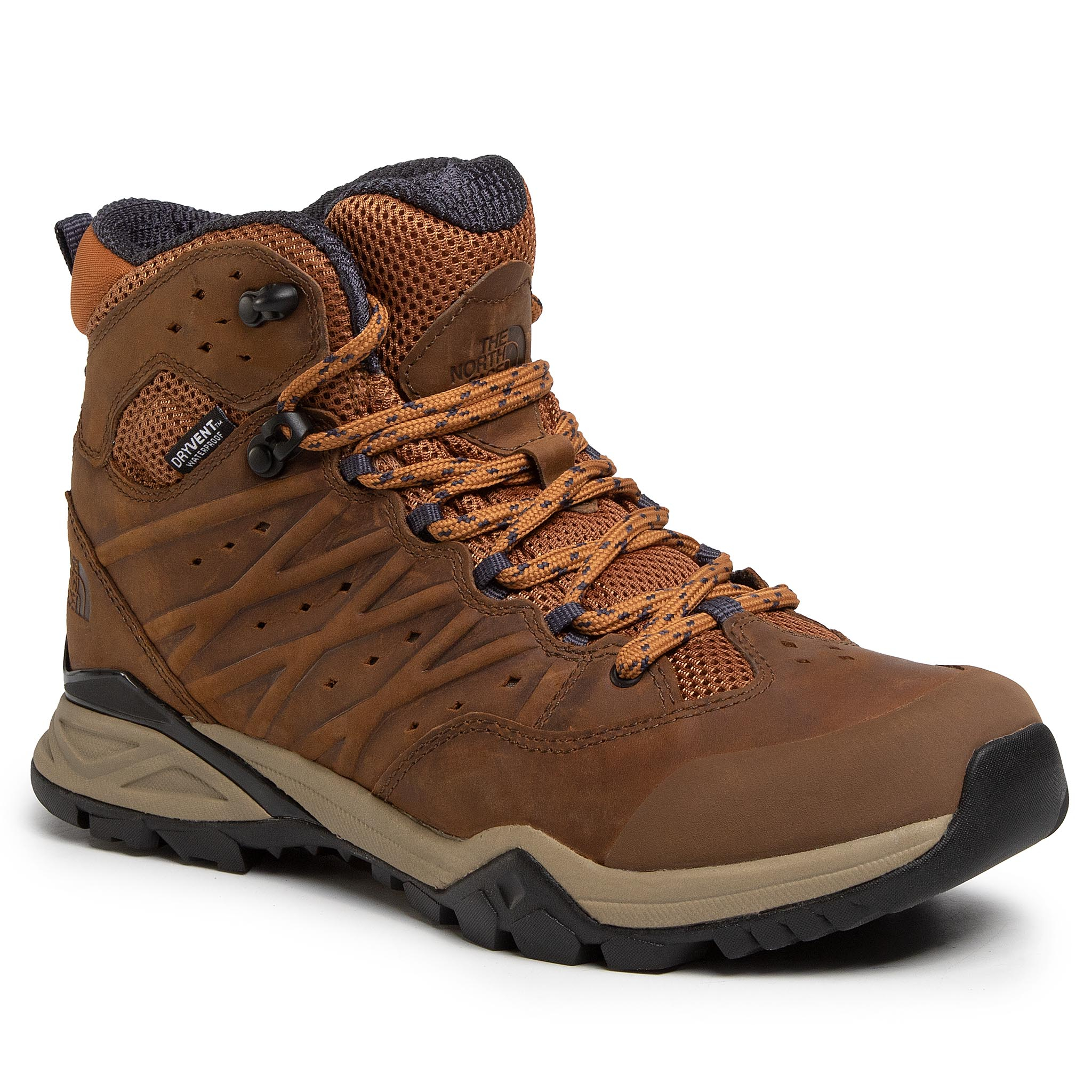 Trekkings THE NORTH FACE - Hedgehog Hike II Mid Wp NF0A4PF5H07 Timber Tan/India Ink