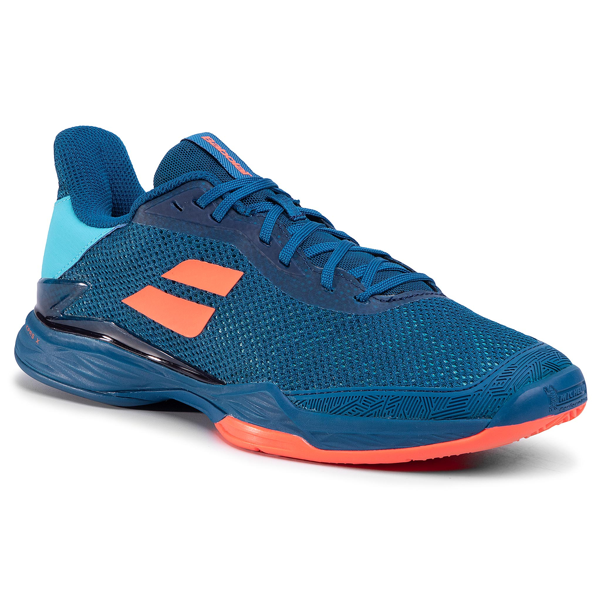 Pantofi Babolat - Jet Tere Clay Men 30s20650 Blue/Fluo Strike imagine epantofi.ro 2021