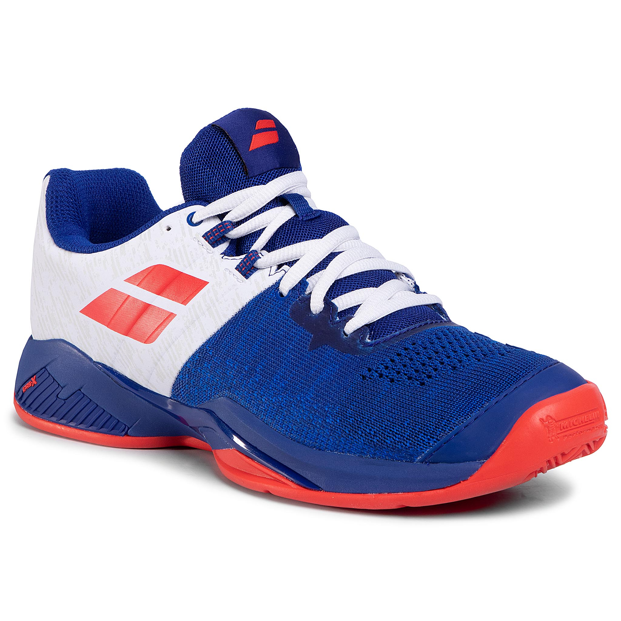 Pantofi Babolat - Propulse Blast Clay Men 30s20446 Imperial Blue/White imagine epantofi.ro 2021