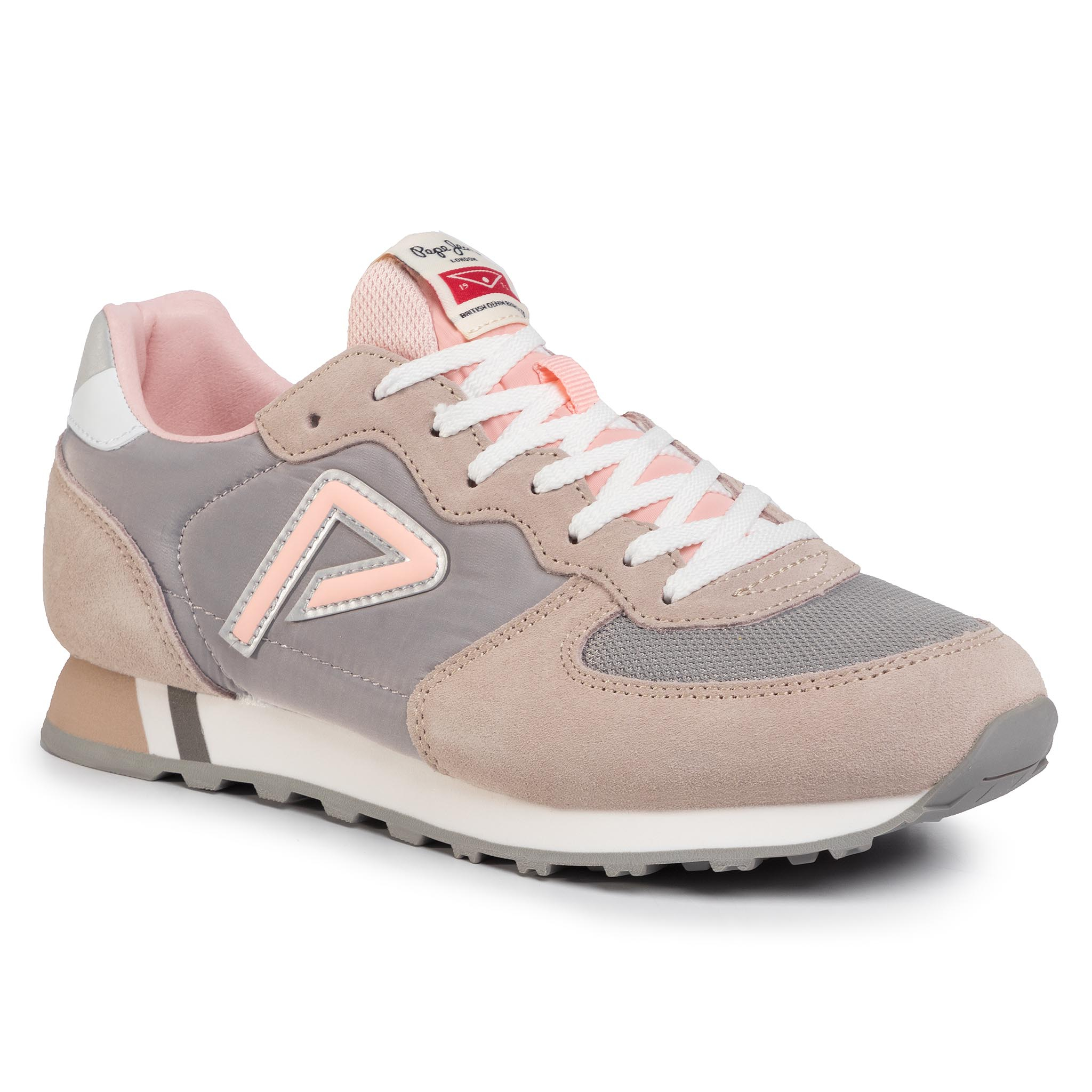 Sneakers PEPE JEANS - Klein Archive Summer PLS31004 Light Pink 315
