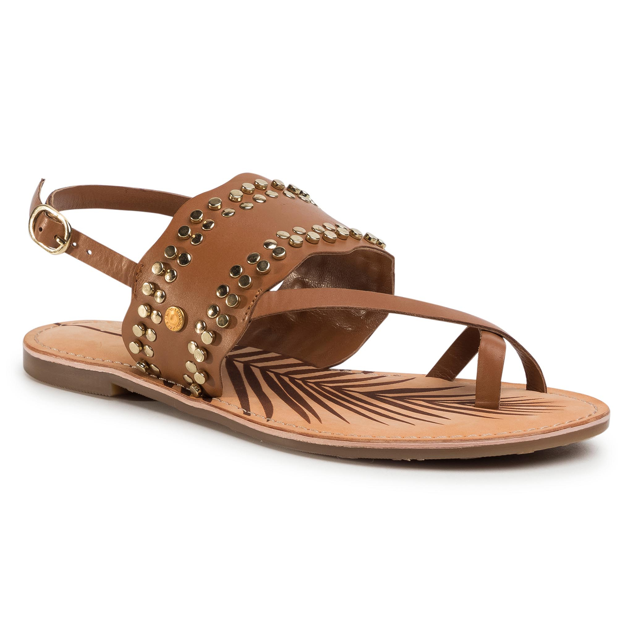 Sandale PEPE JEANS - March Studs PLS90447 Tobacco 859