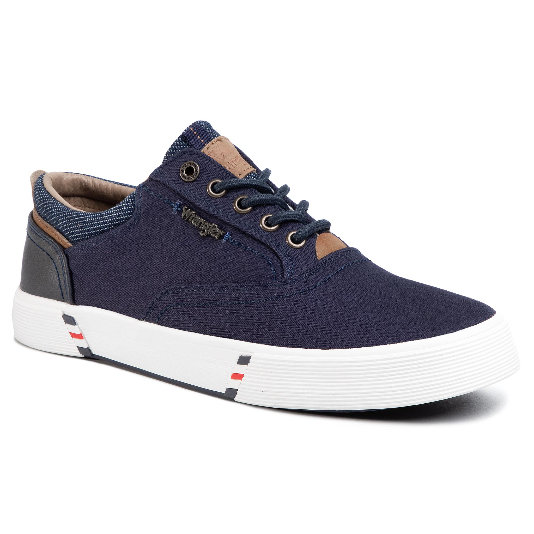 Teniși Wrangler - Monument Board Wm01001a Navy 016 imagine epantofi.ro 2021