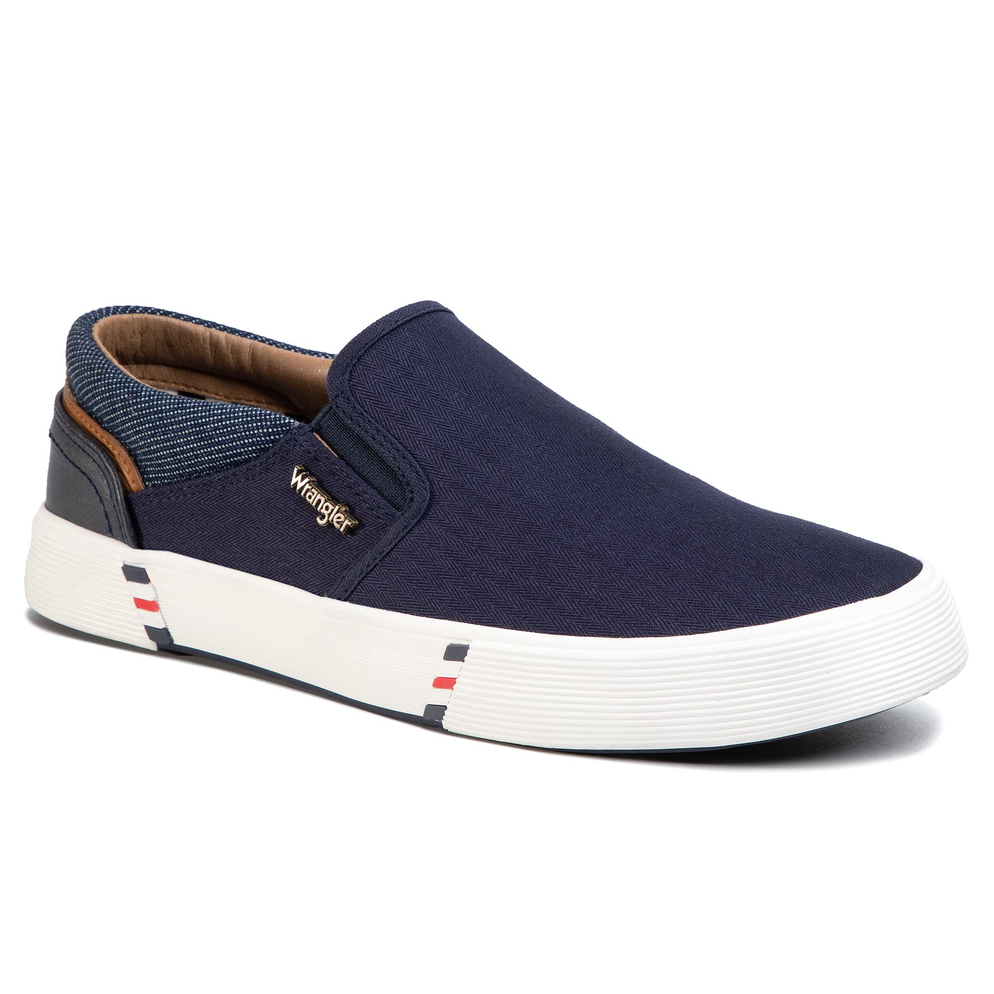 Teniși Wrangler - Monument Slip On Wm01002a Navy 016 imagine epantofi.ro 2021