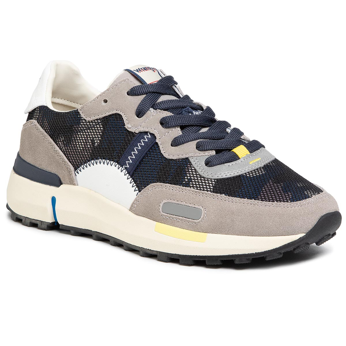 Sneakers WRANGLER - Iconic 70 Ns WM01121A Camouflage 099 New