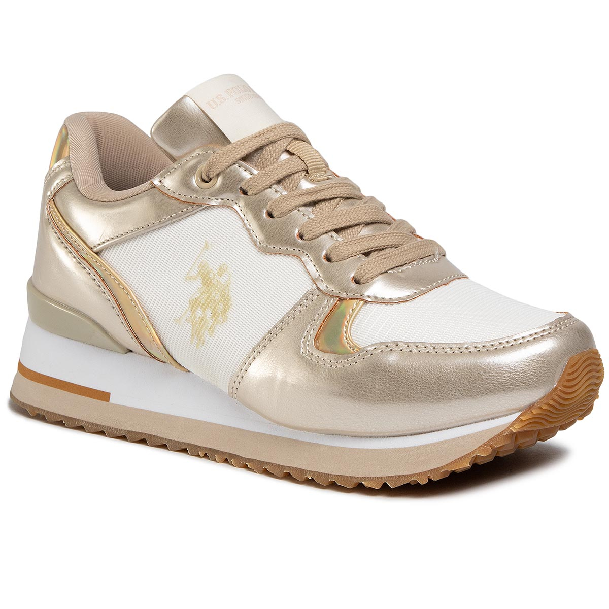 Sneakers U.S. POLO ASSN. - Tuzla2 FEY4228S8/YT4 Off Gold