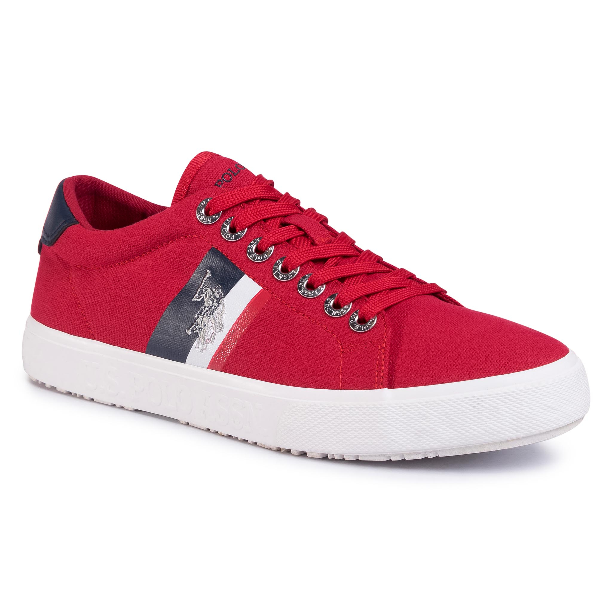 Teniși U.S. Polo Assn. - Jaxon1 Marcs4082s0/Cy2 Red imagine epantofi.ro 2021
