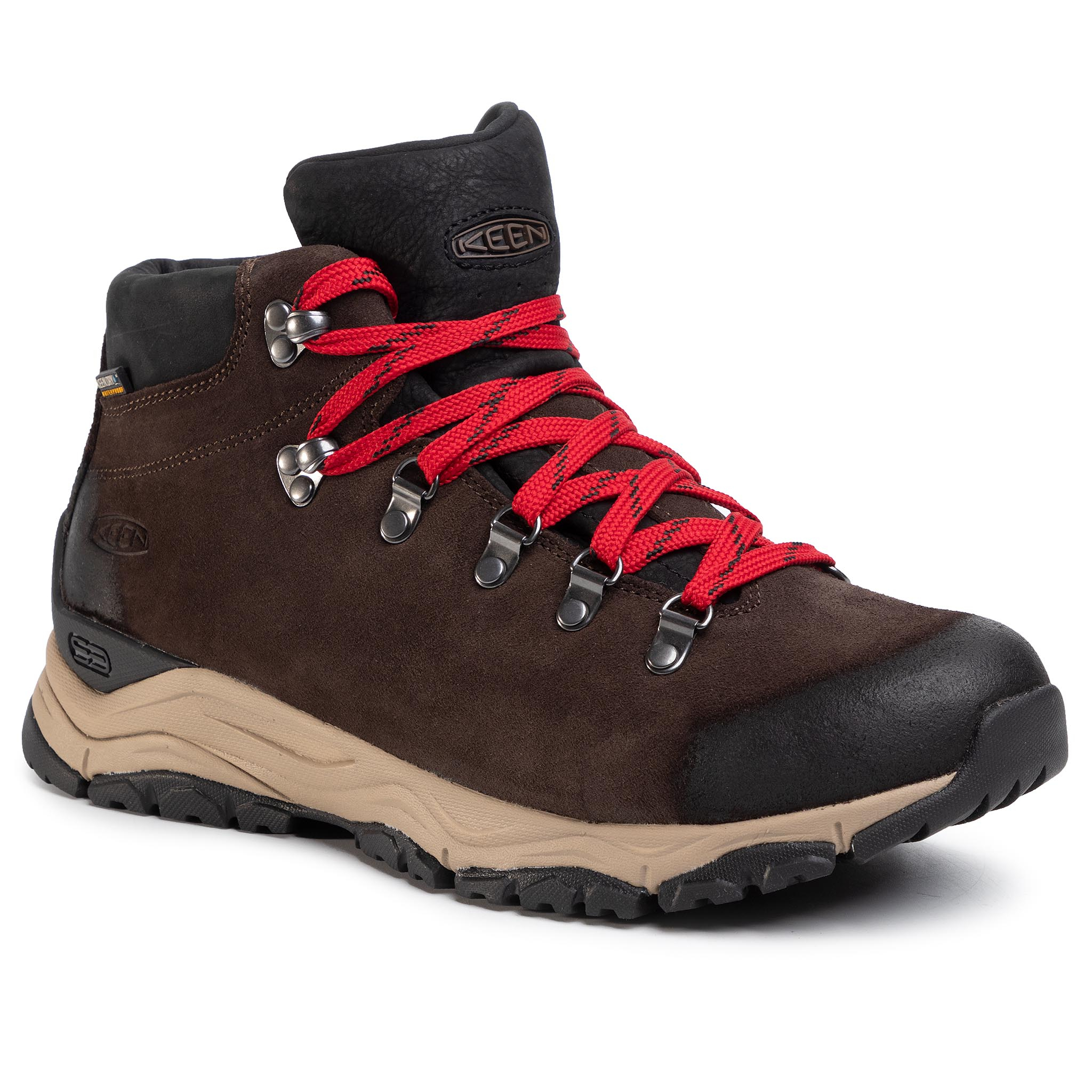 Trekkings Keen - Feldberg Apx Wp 1021601 Ebony/Brown imagine epantofi.ro 2021