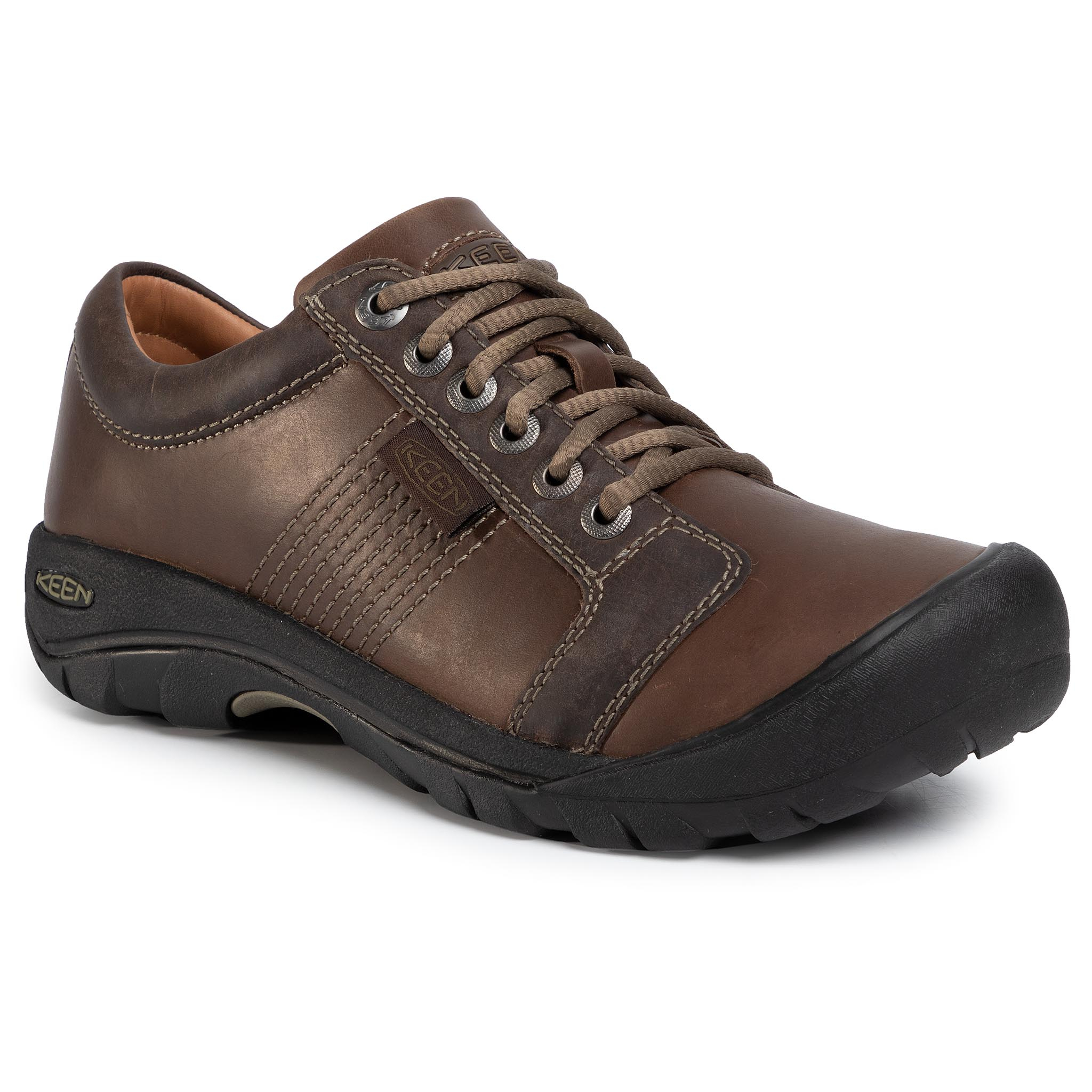 Trekkings Keen - Austin 1007722 Chocolate Brown imagine epantofi.ro 2021