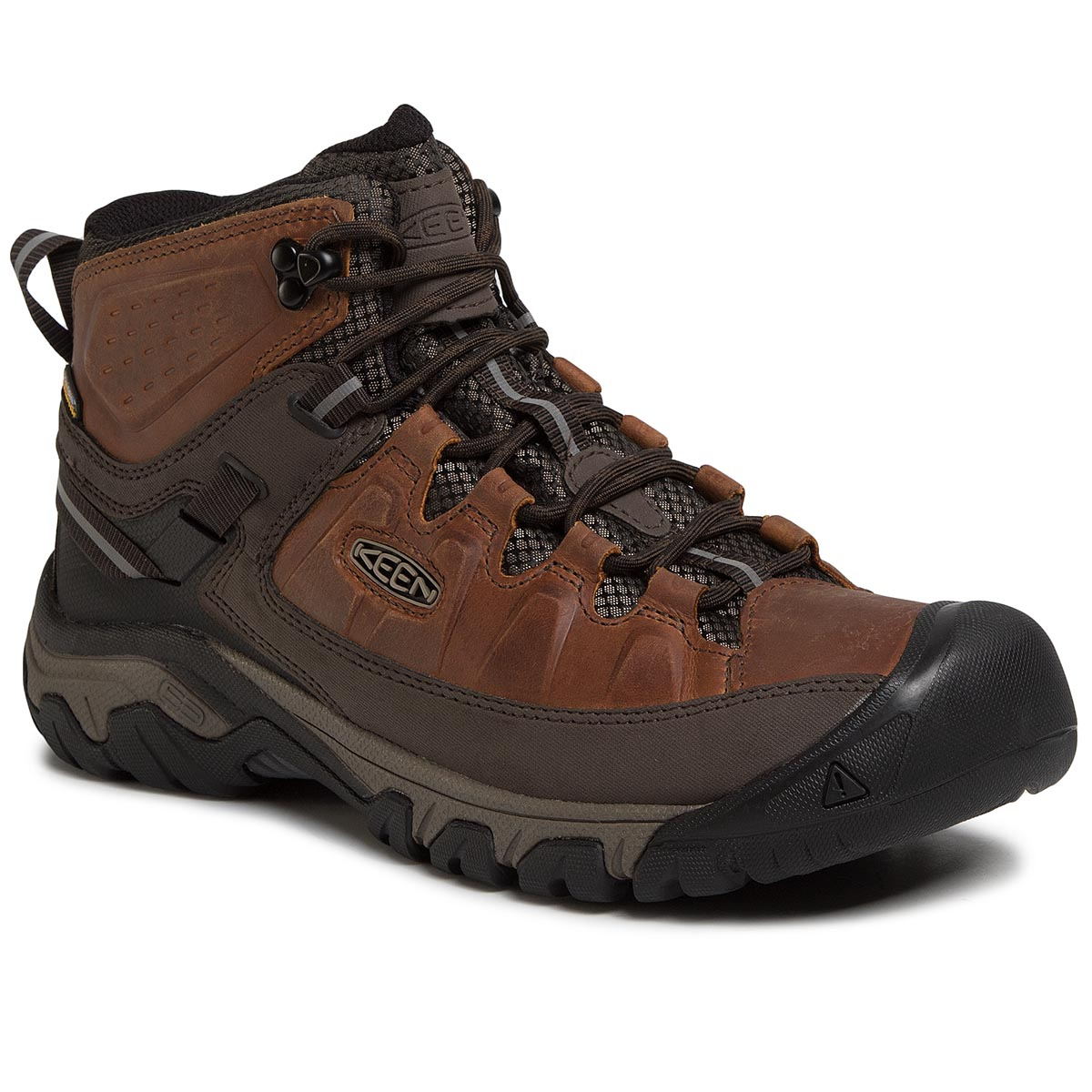Trekkings Keen - Targhee Iii Mid Wp 1023030 Chestnut/Mulch imagine epantofi.ro 2021