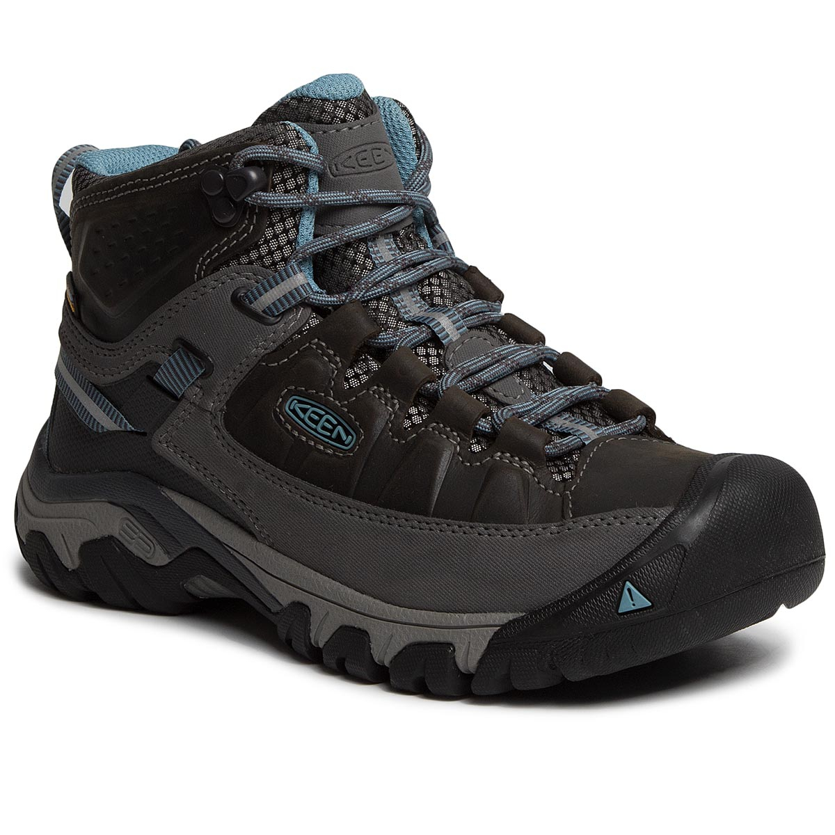 Trekkings Keen - Targhee Iii Mid Wp 1023040 Magnet/Atlantic Blue imagine epantofi.ro 2021