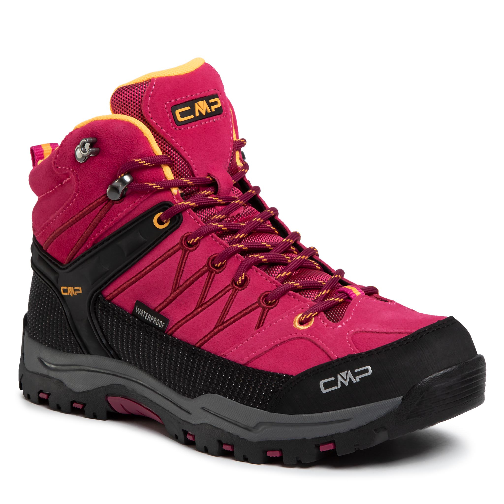 Trekkings Cmp - Kids Rigel Mid Trekking Shoes Wp 3q12944j Bouganville/Goji 06he imagine epantofi.ro 2021