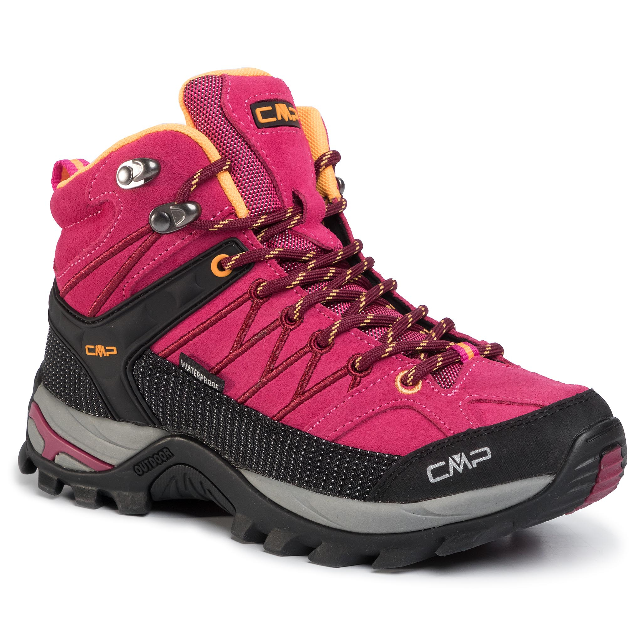 Trekkings Cmp - Rigel Mid Wmn Trekking Shoes Wp 3q12946 Bouganville/Goji 06he imagine epantofi.ro 2021