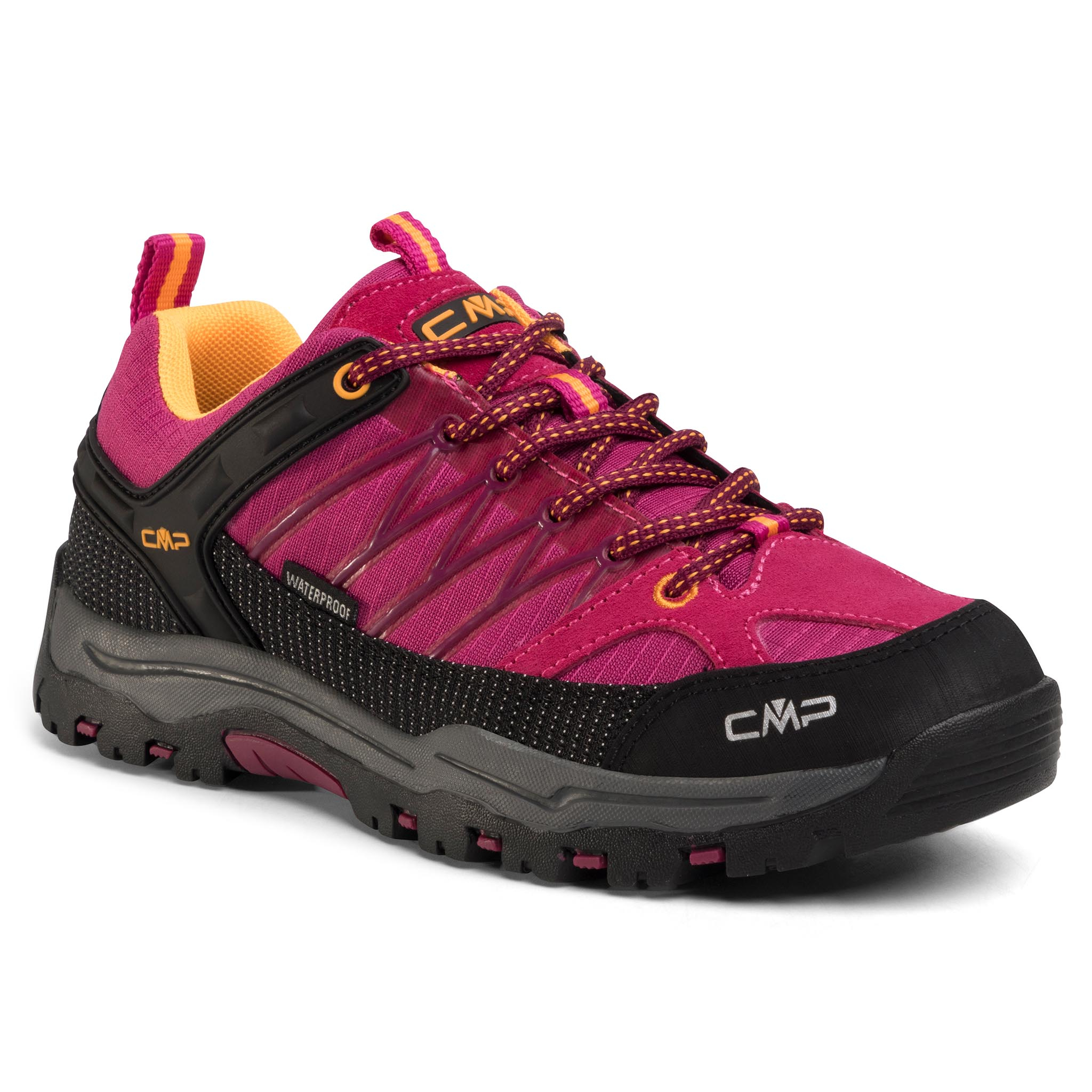 Trekkings Cmp - Kids Rigel Low Trekking Shoes Wp 3q54554j Bouganville/Goji 06he imagine epantofi.ro 2021