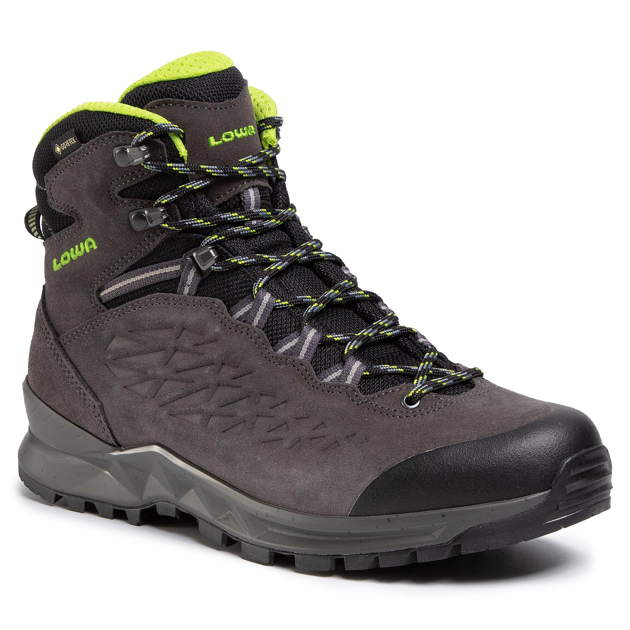 Trekkings Lowa - Explorer Gtx Mid Gore-Tex 210712 Anthracite/Limone 9702 imagine epantofi.ro 2021