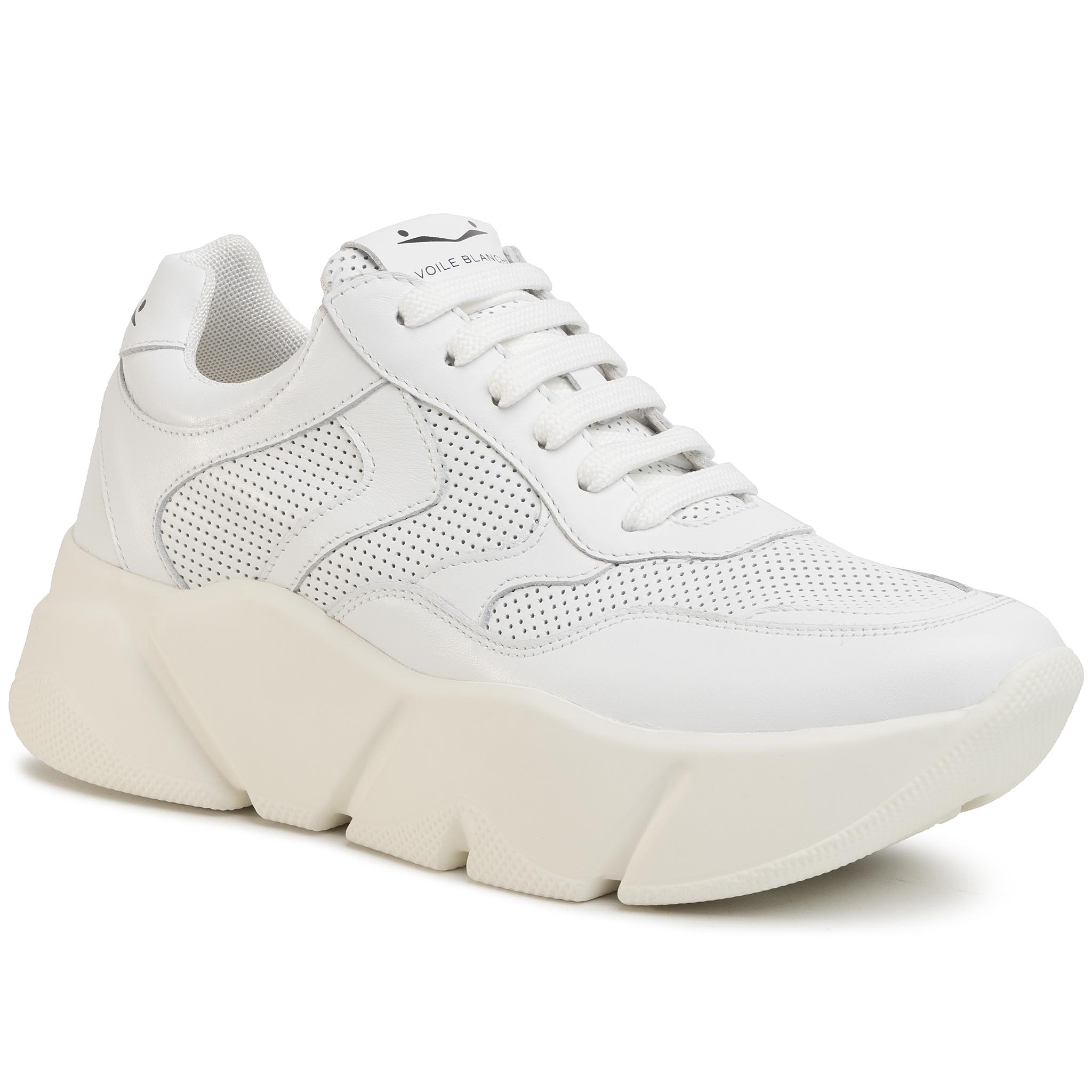 Sneakers VOILE BLANCHE - Monster 0012013532.02.0N01 Bianco